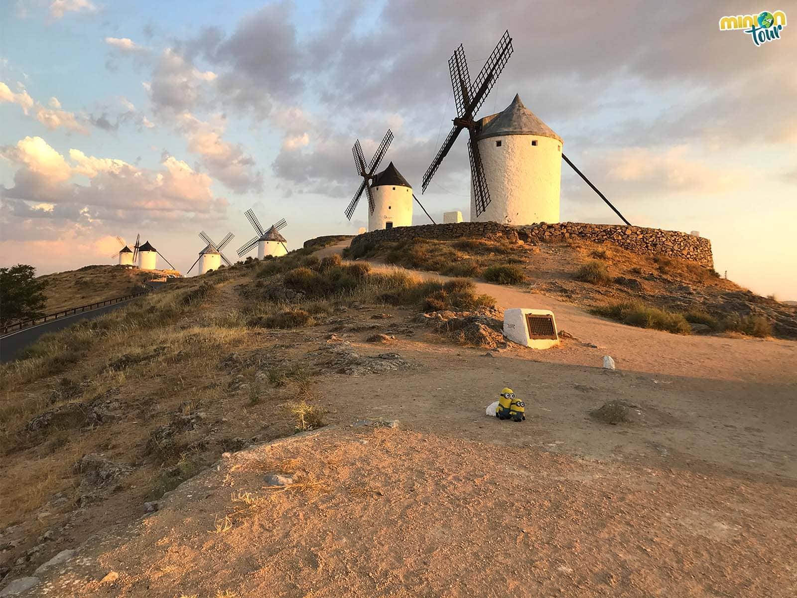 Gigantes en La Mancha, los molinos de Consuegra
