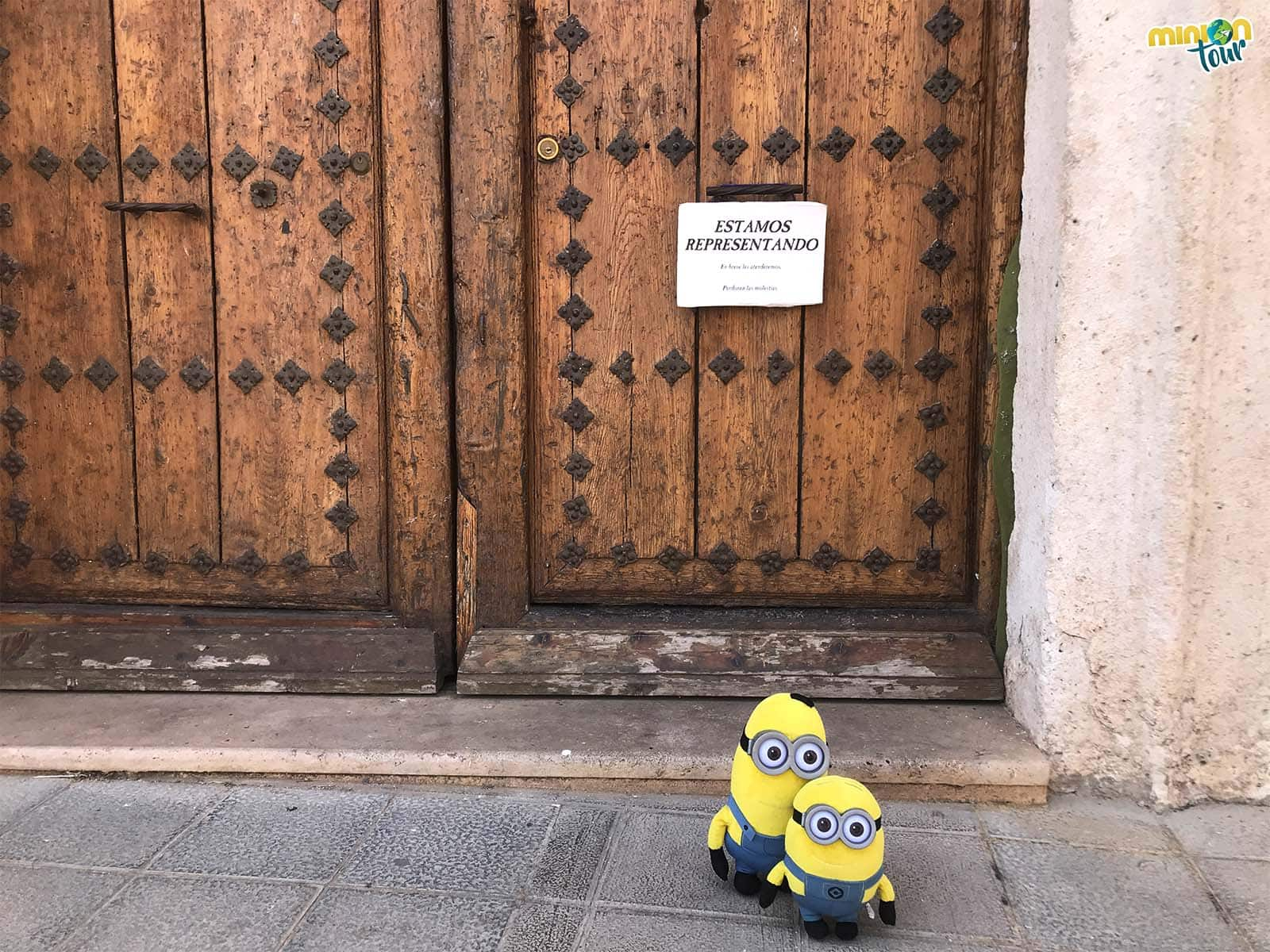 2 Minions acaban de llegar al Festival de Teatro Clásico de Almagro