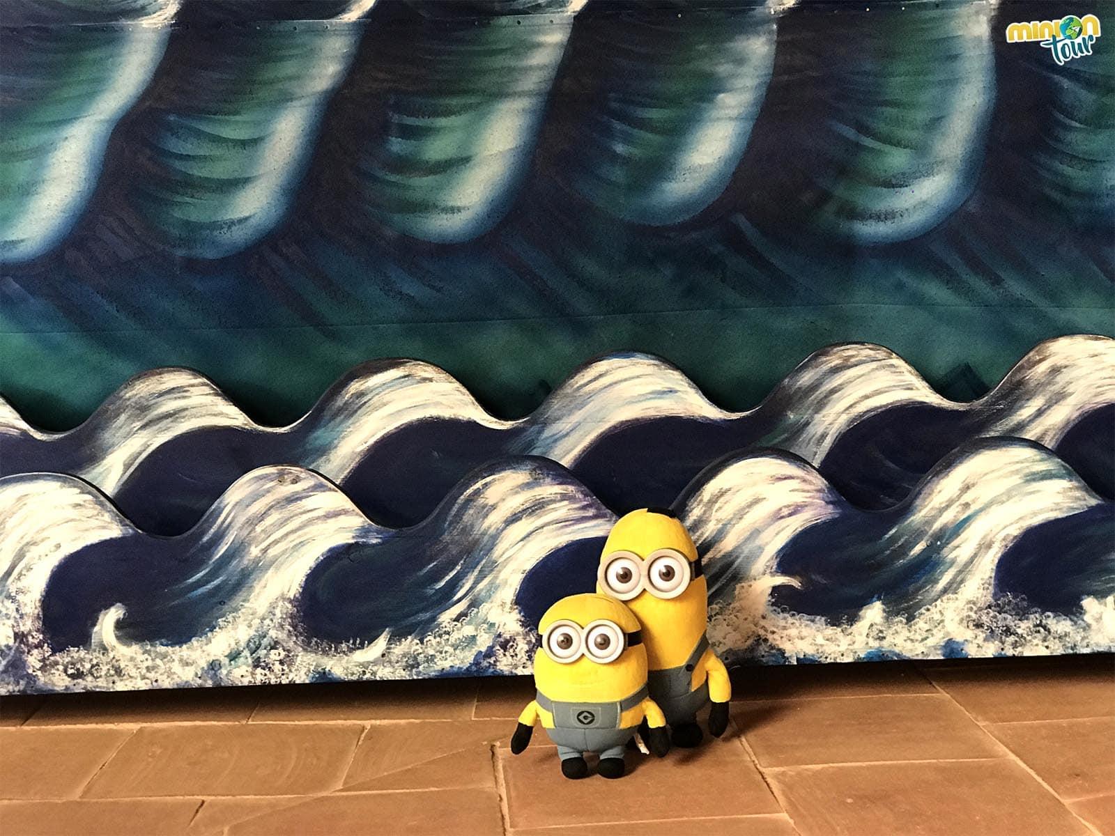 Haciendo olas en el museo