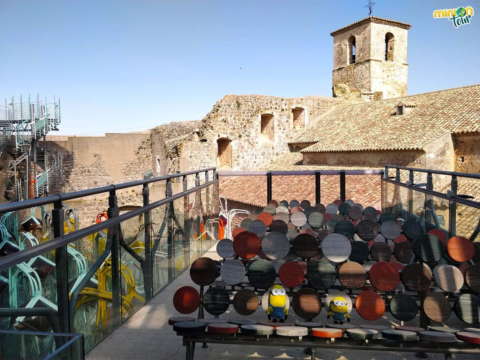 Parte superior del Castillo de Garcimuñoz