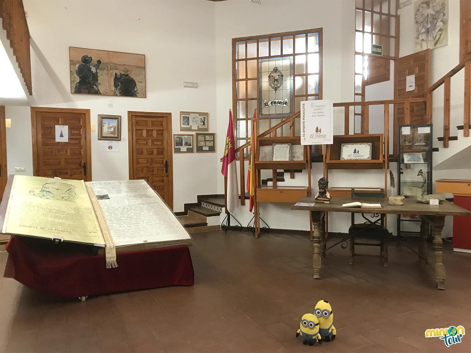 Otra de las salas del Museo Cervantino de El Toboso