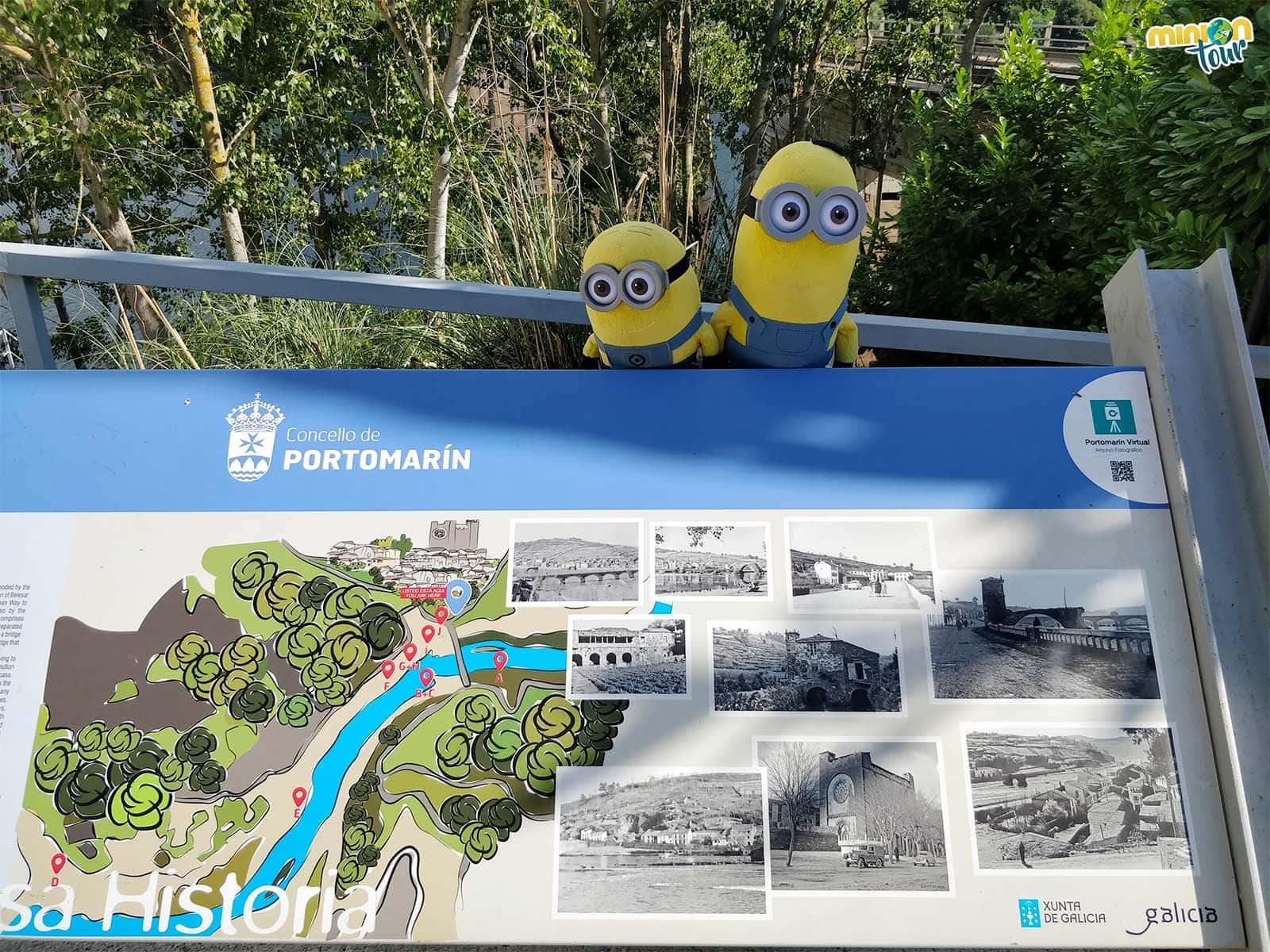 El antes y después de Portomarín