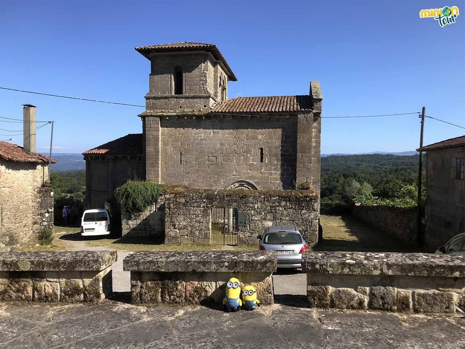 Otra parada en la ruta del románico de la Ribeira Sacra, la Iglesia de San Miguel de Eiré