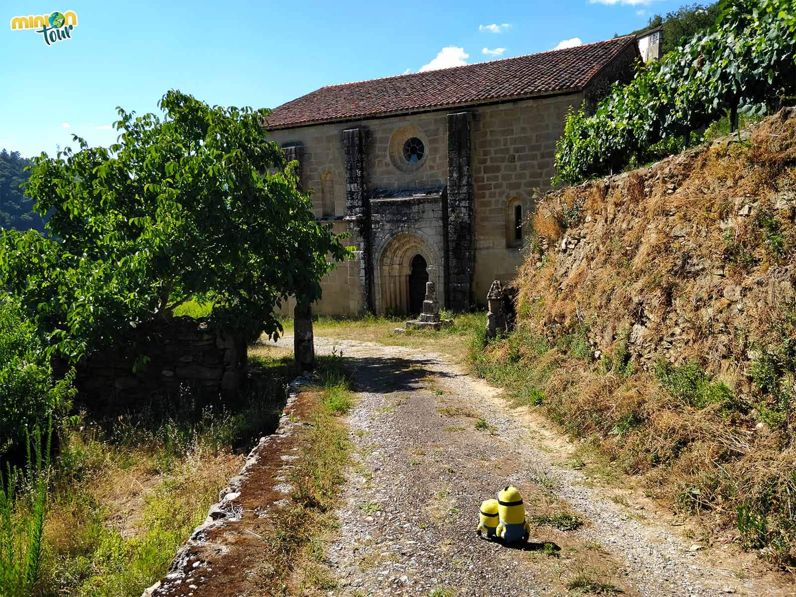 Ruta del Románico de la Ribeira Sacra.