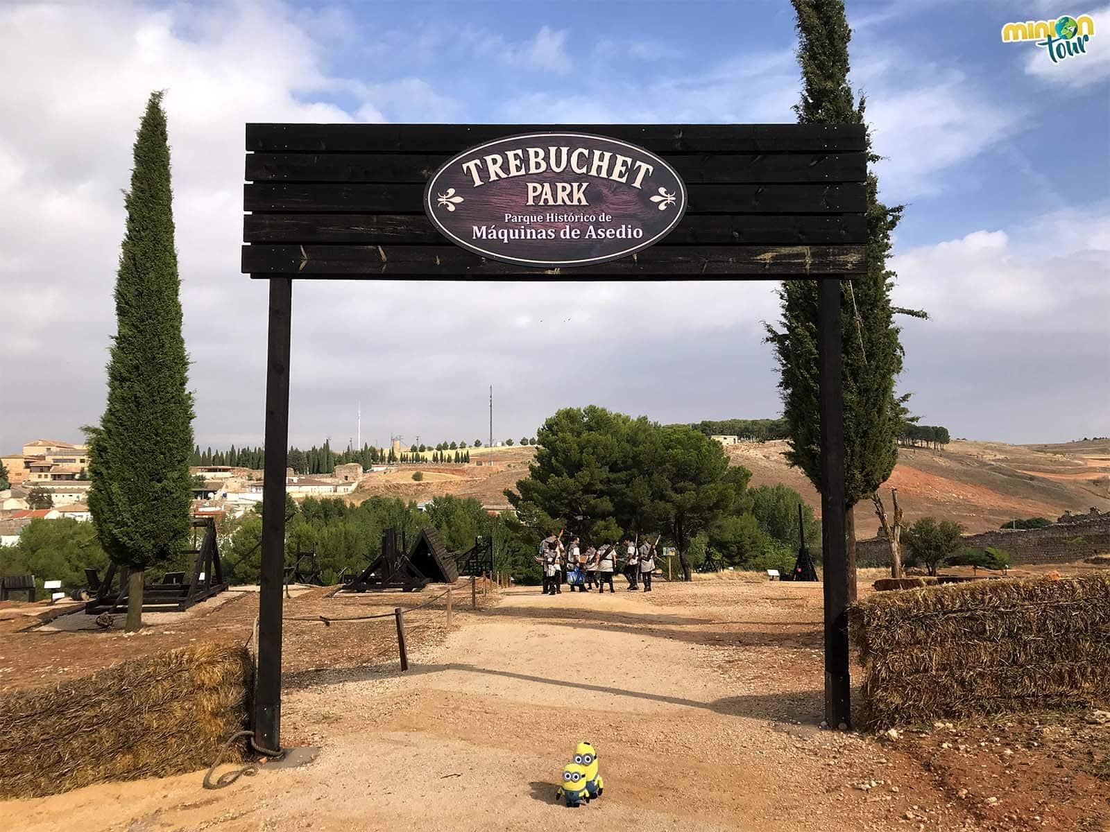 Aprovechamos para visitar Trebuchet Park en el Combate Medieval de Belmonte