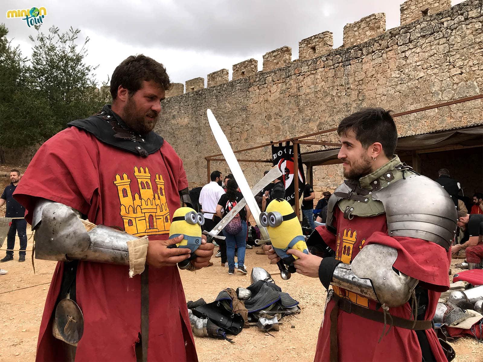 Nos colamos en el Combate Medieval de Belmonte