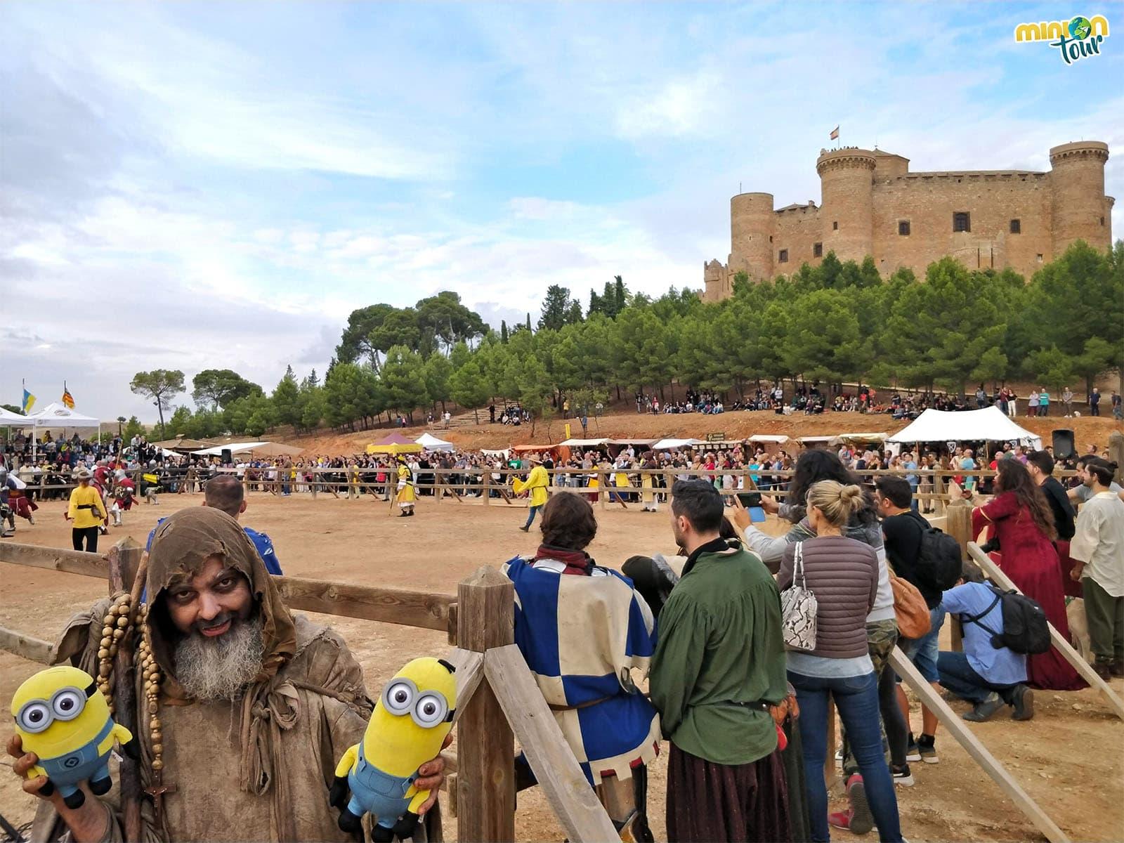 Nos hemos encontrado hasta un pordiosero en el Combate Medieval de Belmonte