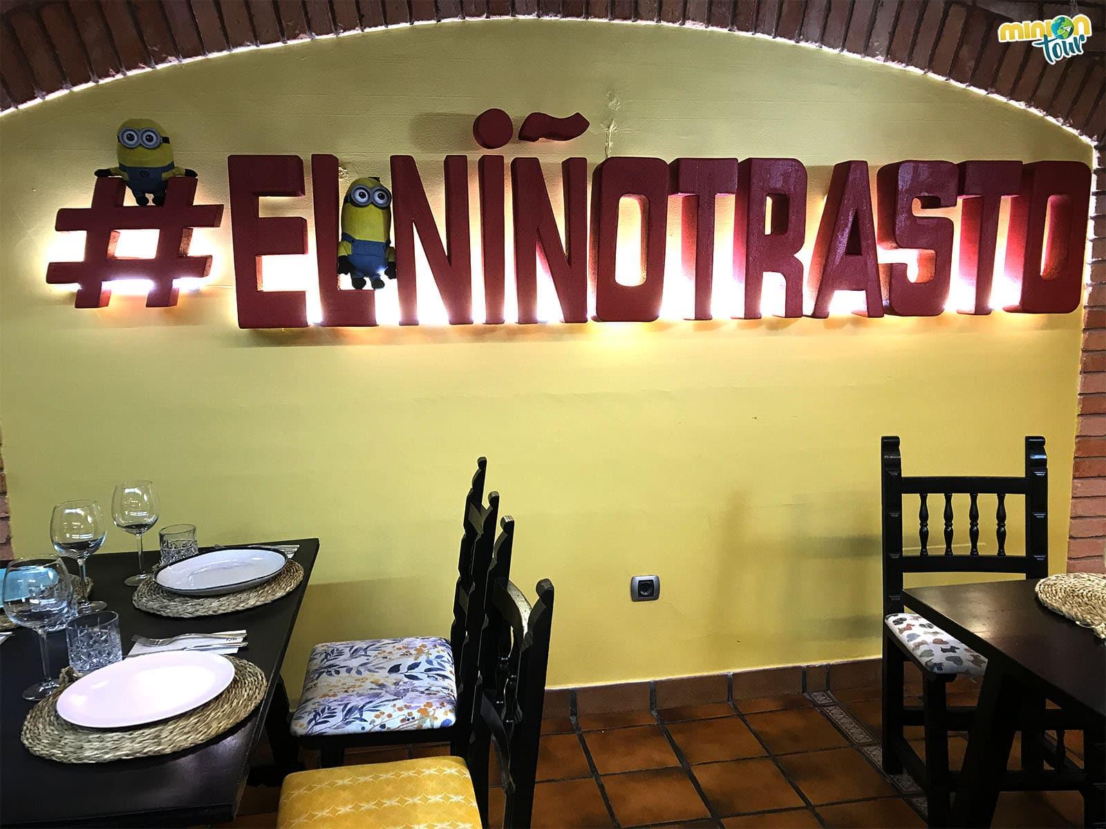 En el #ElNiñoTrasto