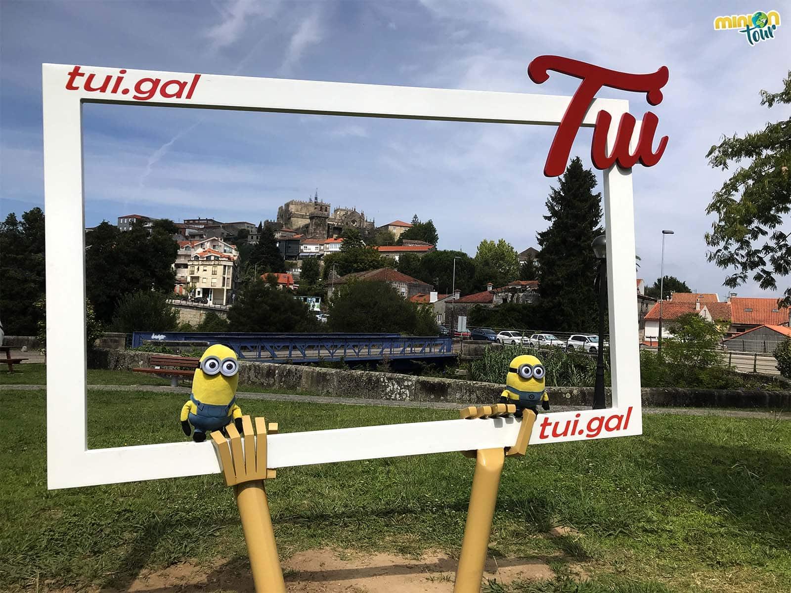 Participando en el concurso Enmárcate en Tui