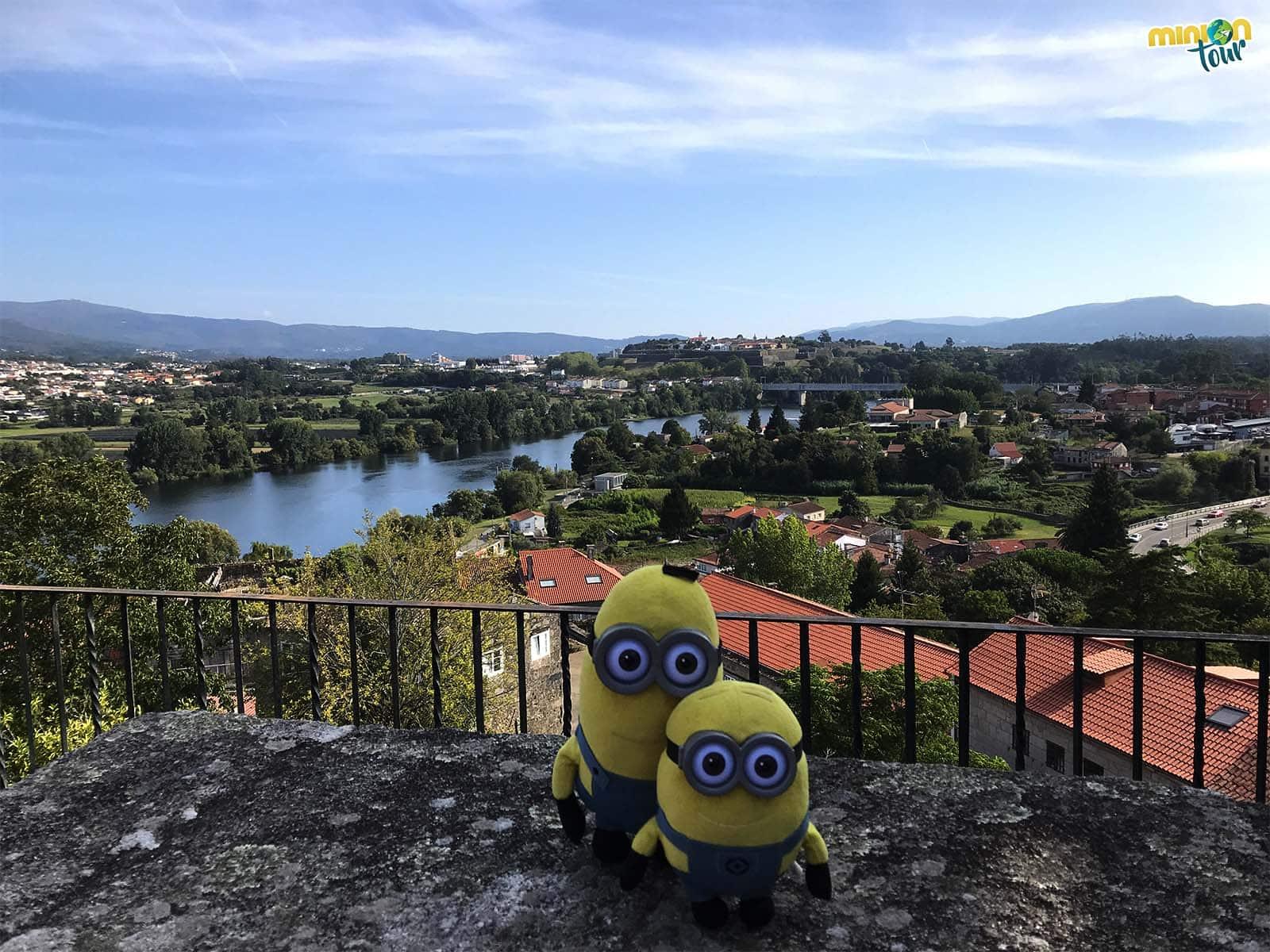 Vistas desde la Catedral de Tui