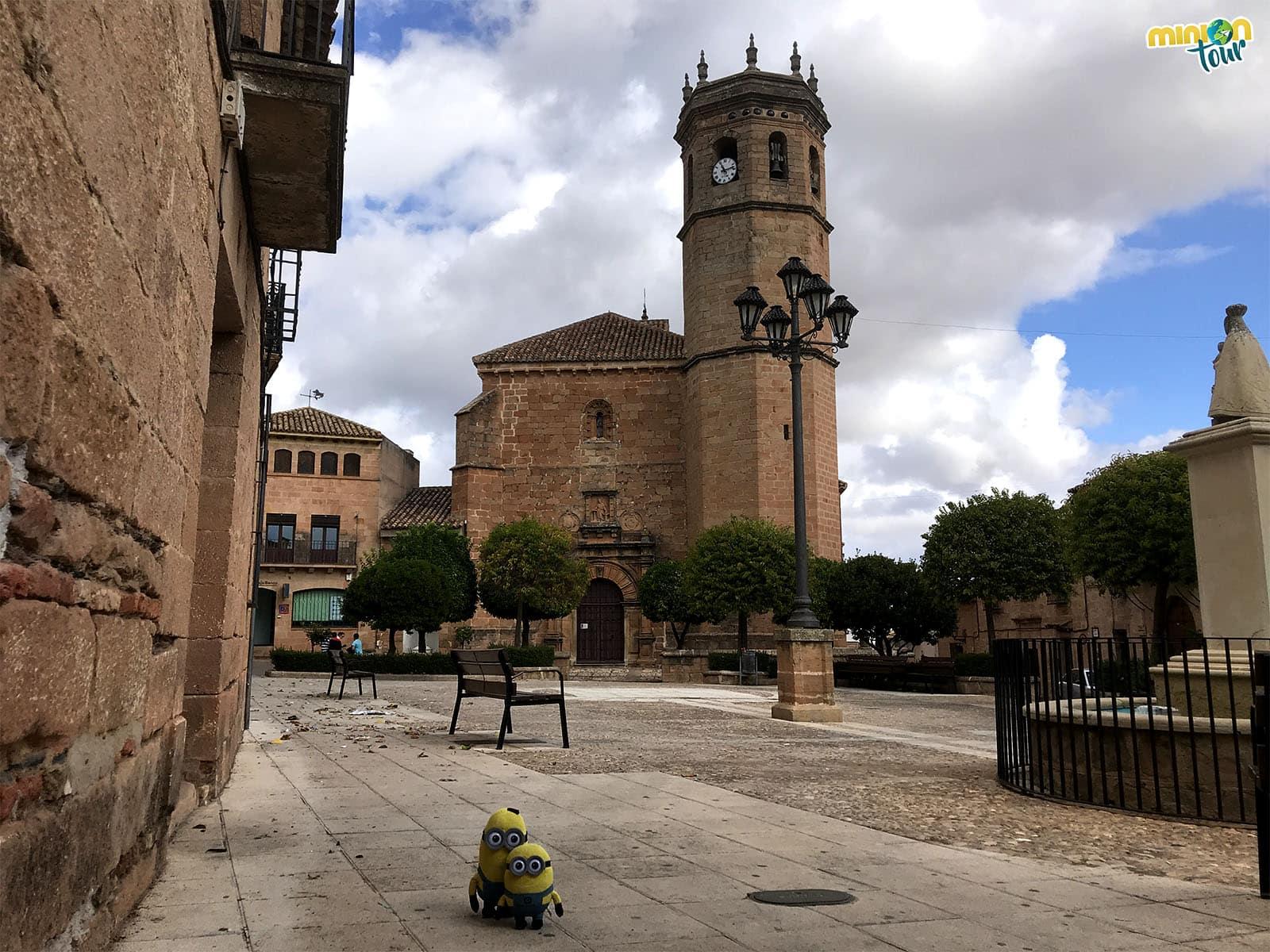 La Plaza Mayor de Baños de la Encina