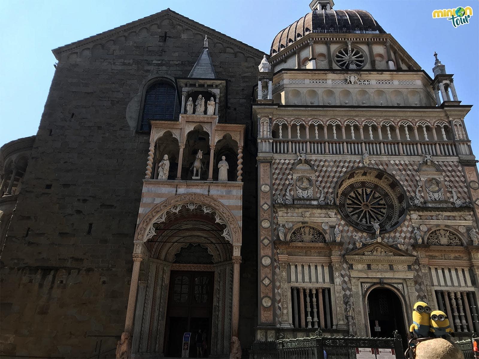 Un imprescindible que ver en Bérgamo, la Capilla Colleoni