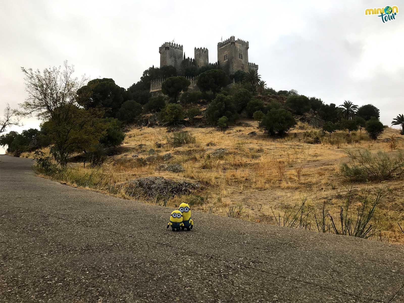 2 Minions en las Jornadas Medievales del Castillo de Almodóvar del Río