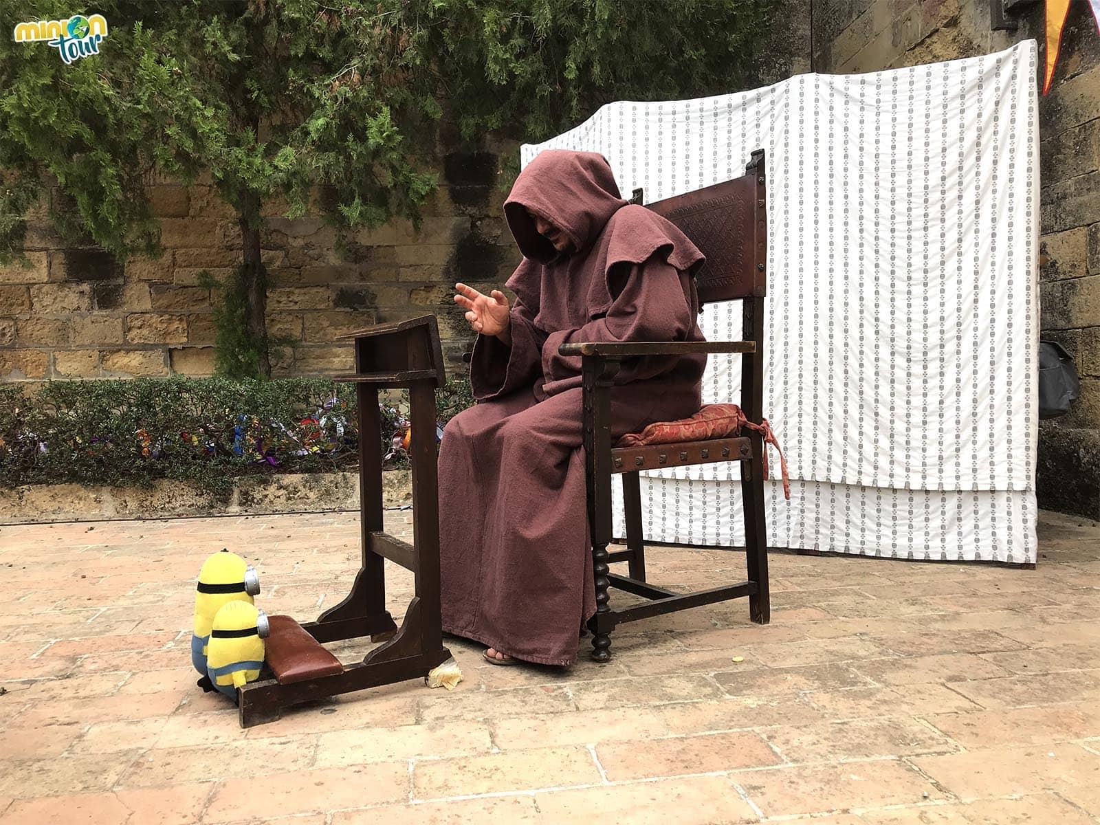 Nos confesamos antes de irnos de las Jornadas Medievales del Castillo de Almodóvar del Río