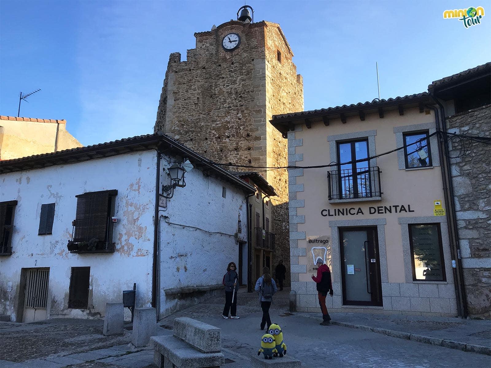 La Torre del Reloj de Buitrago del Lozoya