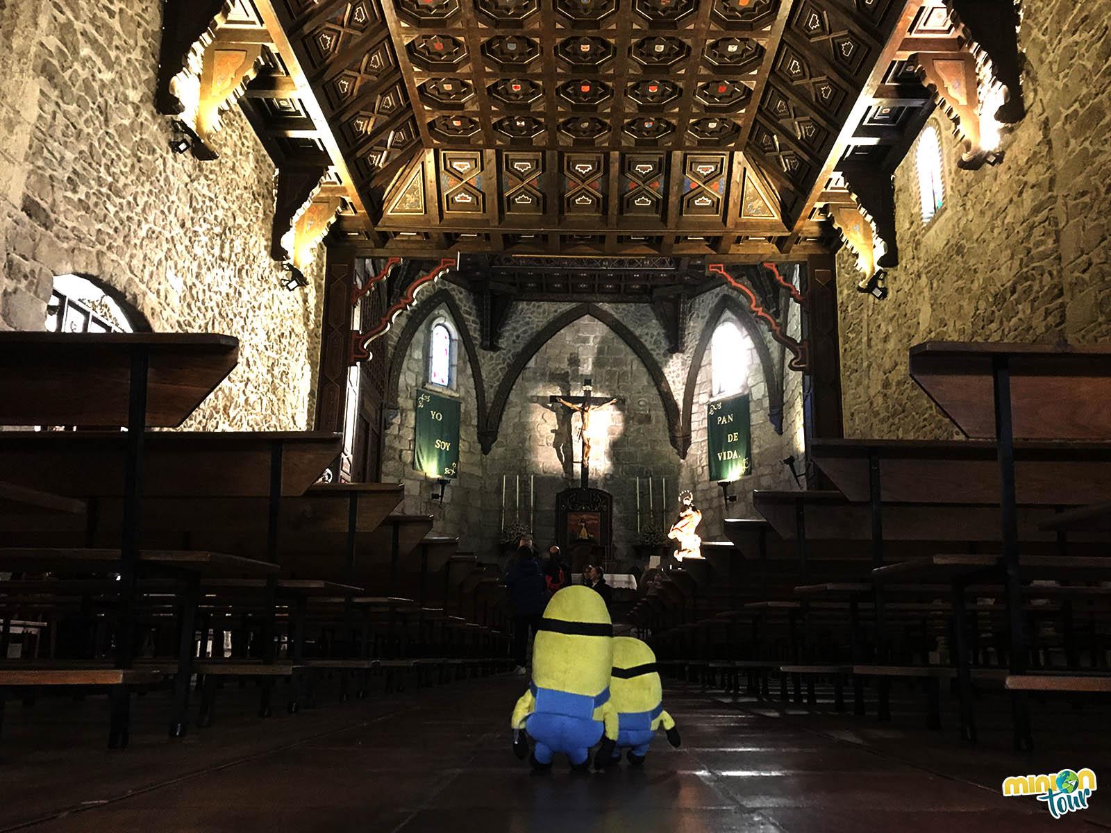 Interior de la Iglesia de Santa María del Castillo