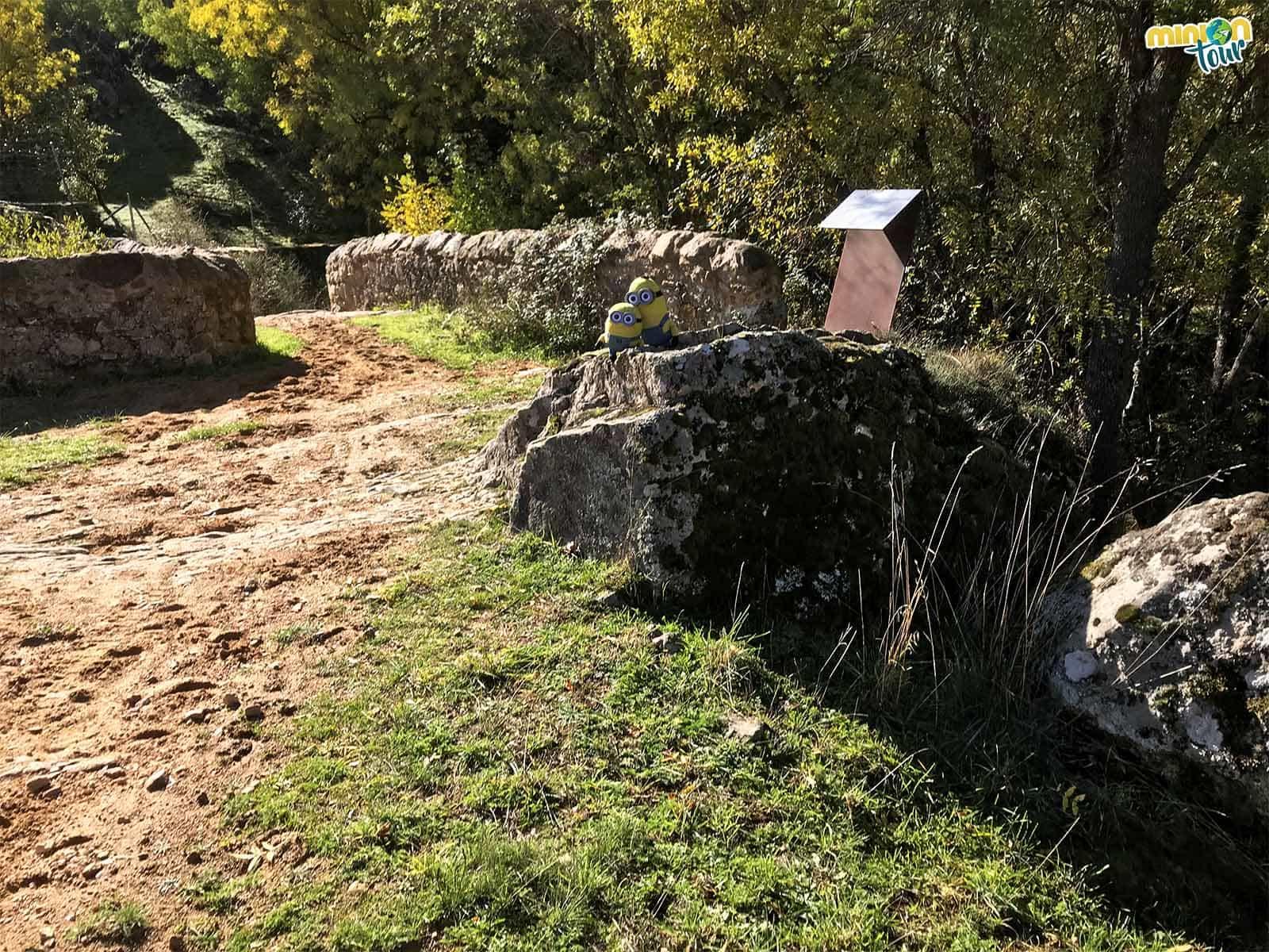 Puente de Calicanto en la Ruta de La Beltraneja