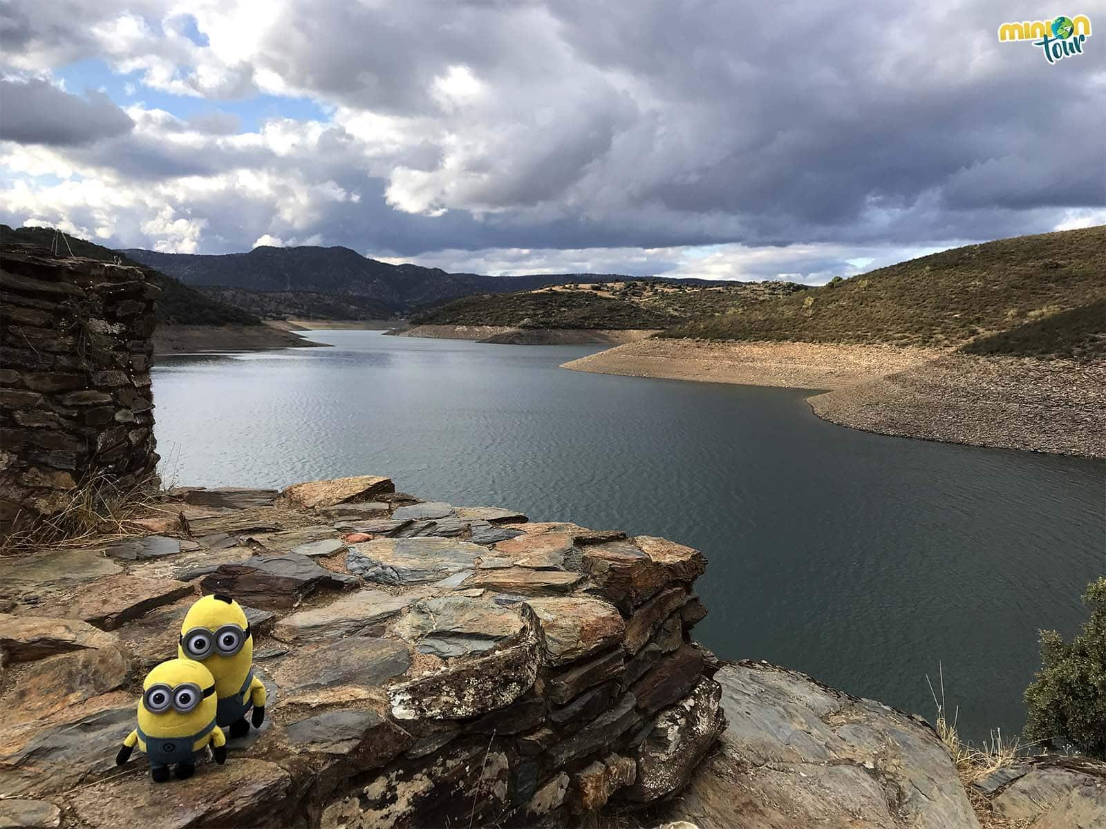 Vistas desde el Yacimiento Arqueológico de Peñalosa