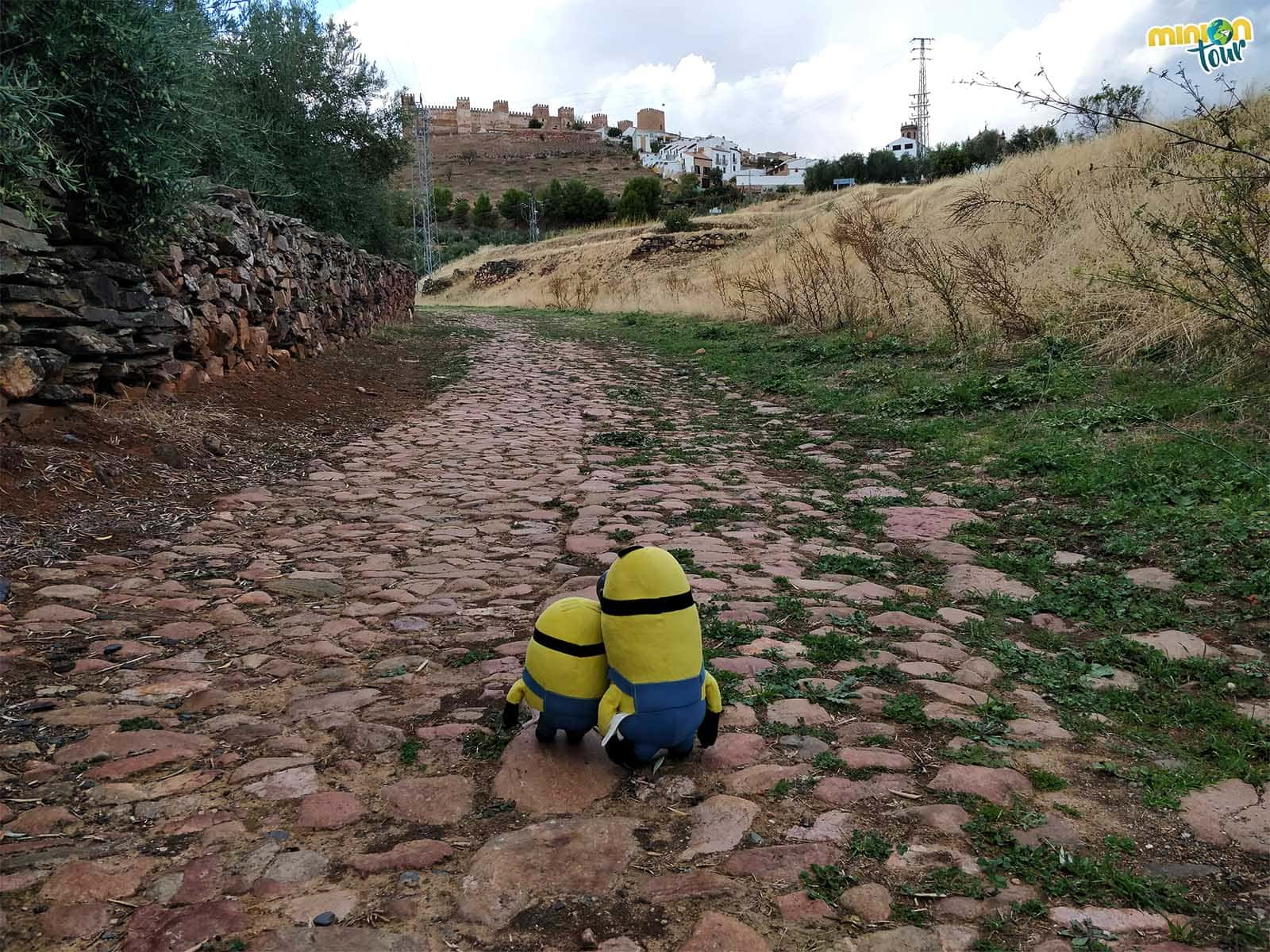 Calzada romana cerca de Baños de la Encina