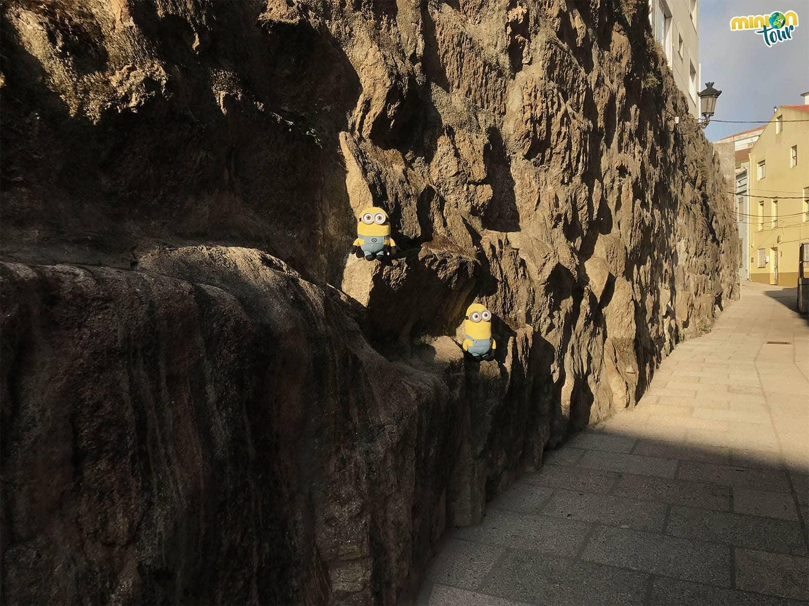 Restos de la muralla de A Guarda