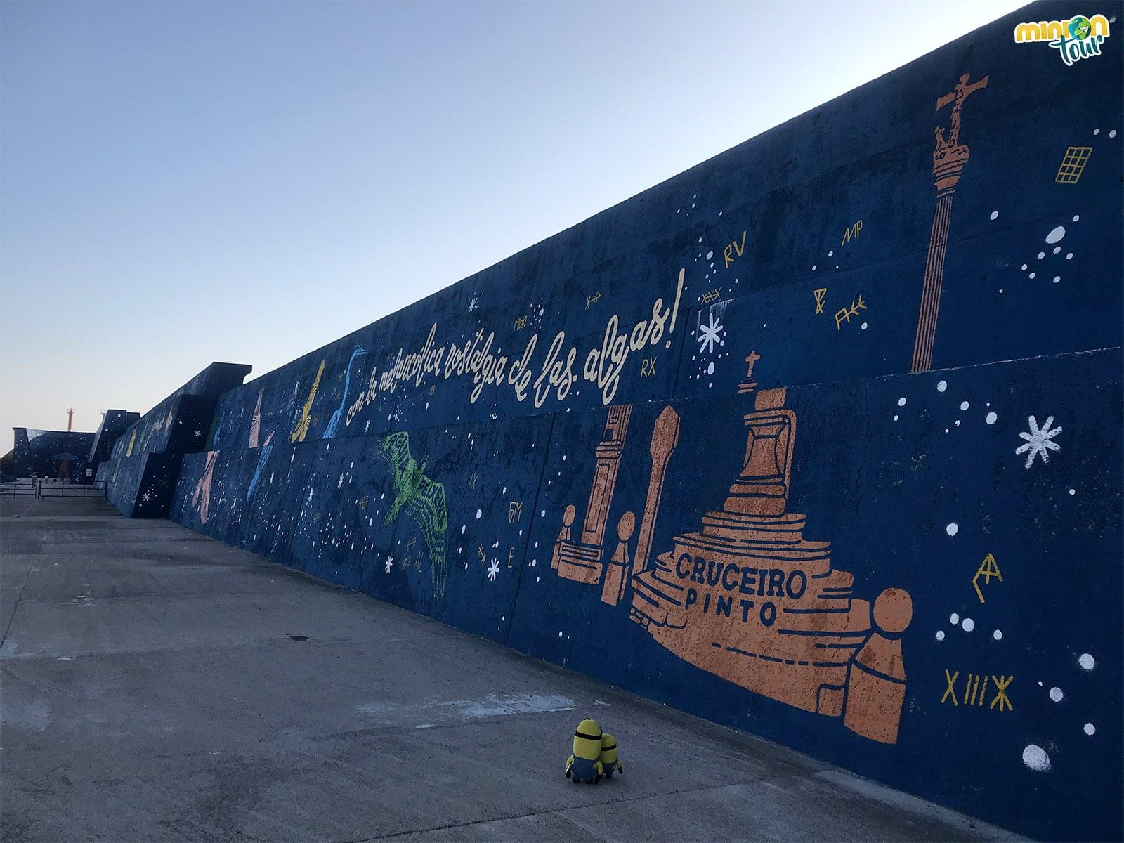 Murales en A Guarda