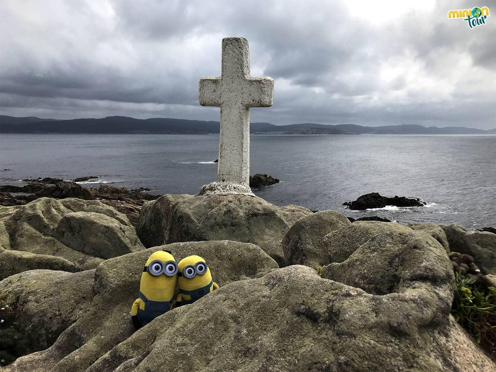 Cruz en el Cabo de O Roncudo