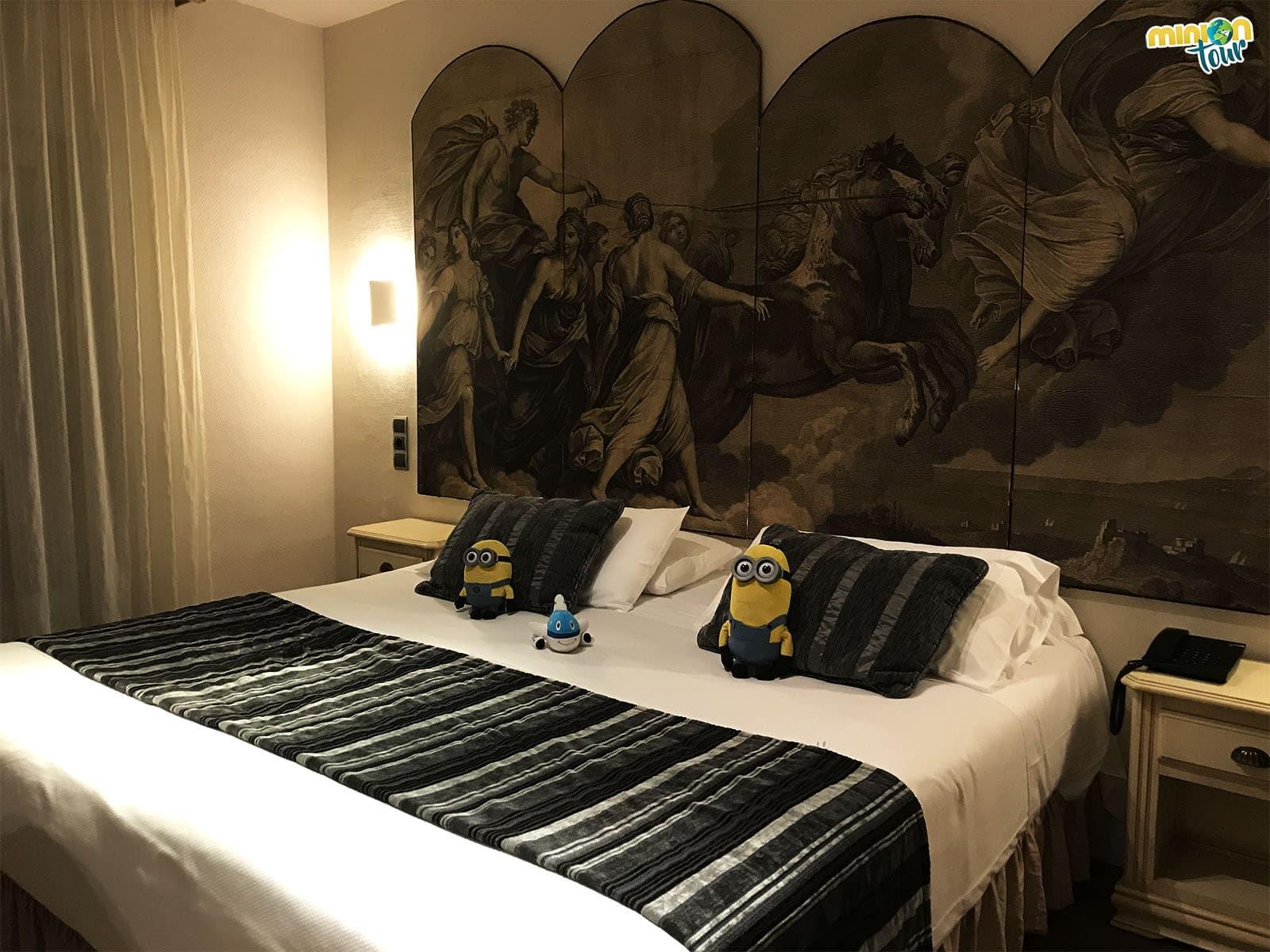 Habitación del Hotel Los Ángeles en Granada