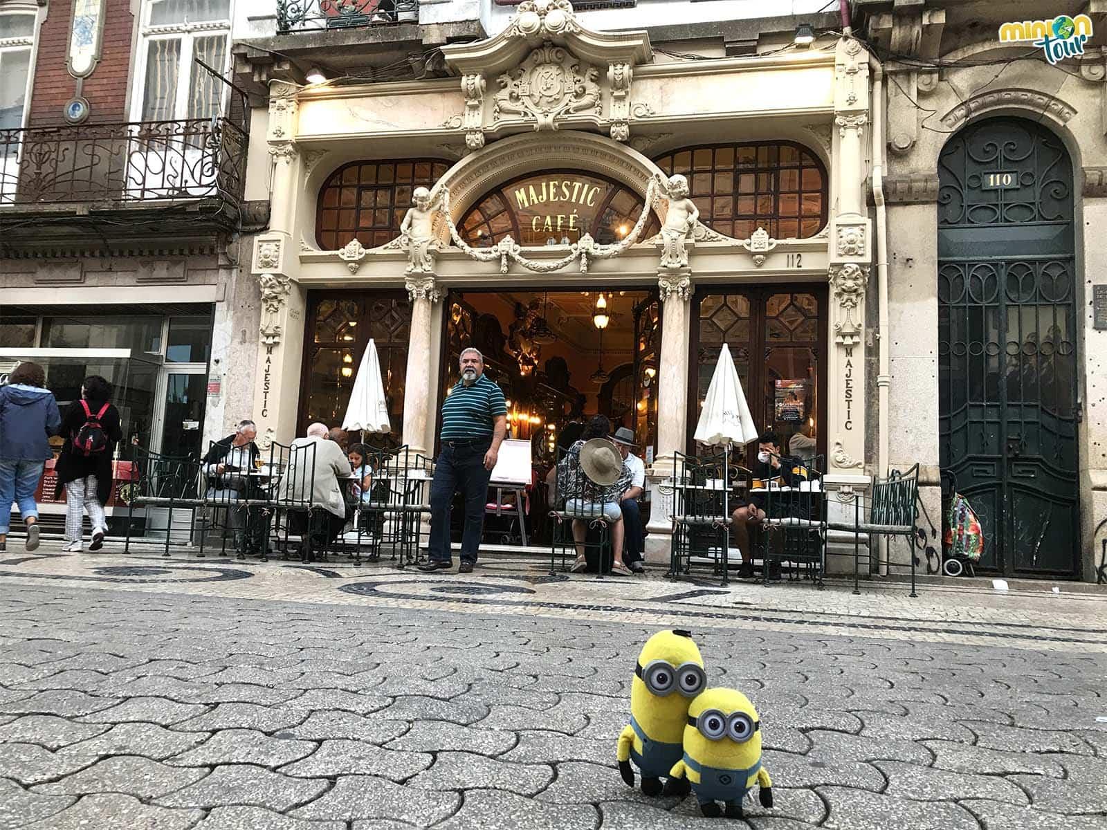 El Café Majestic en Oporto