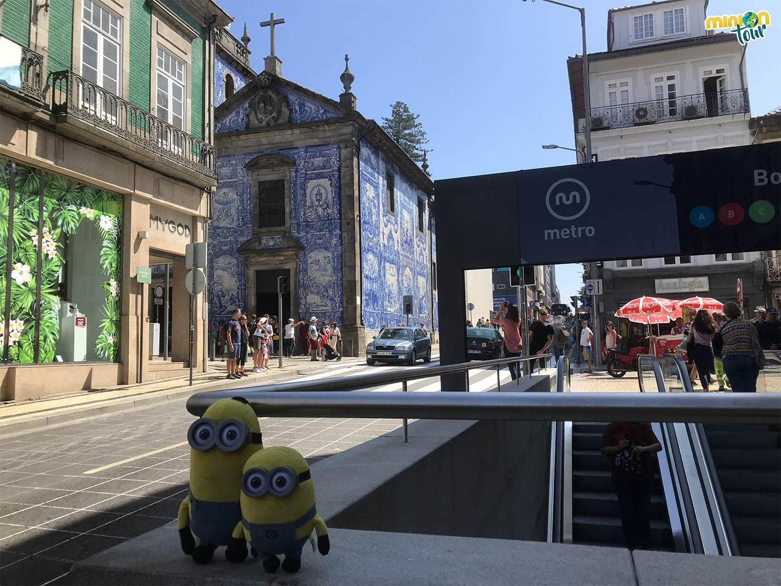 La Capilla de las Almas, uno de los sitios que ver en Oporto en un fin de semana