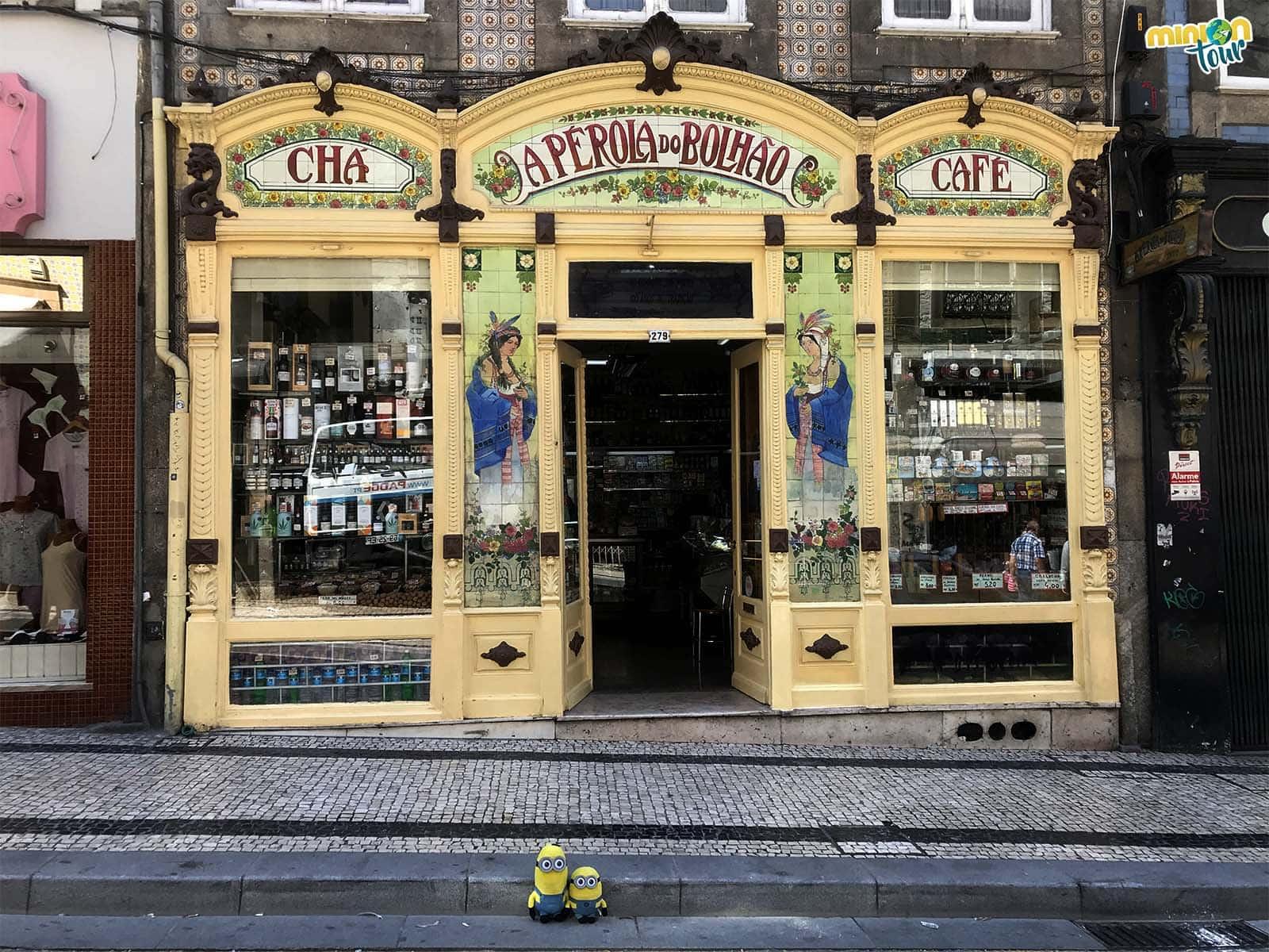 Una tienda típica portugesa