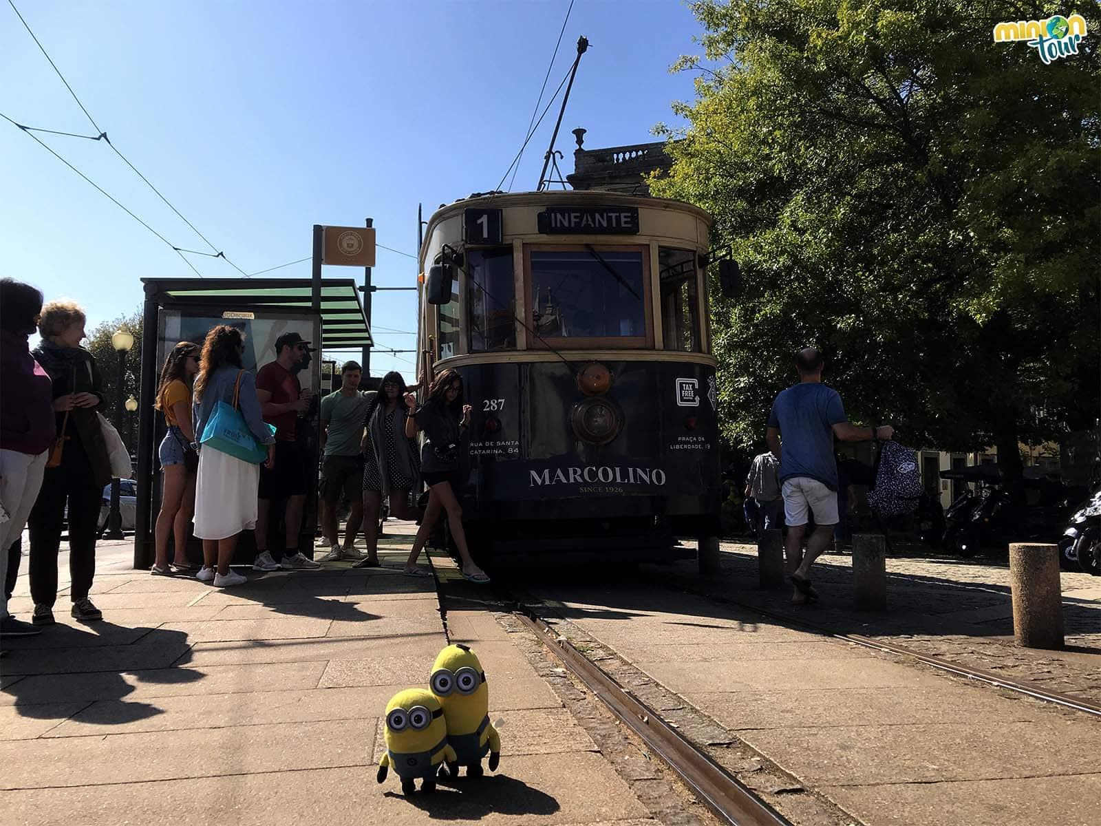 Tranvía en Oporto