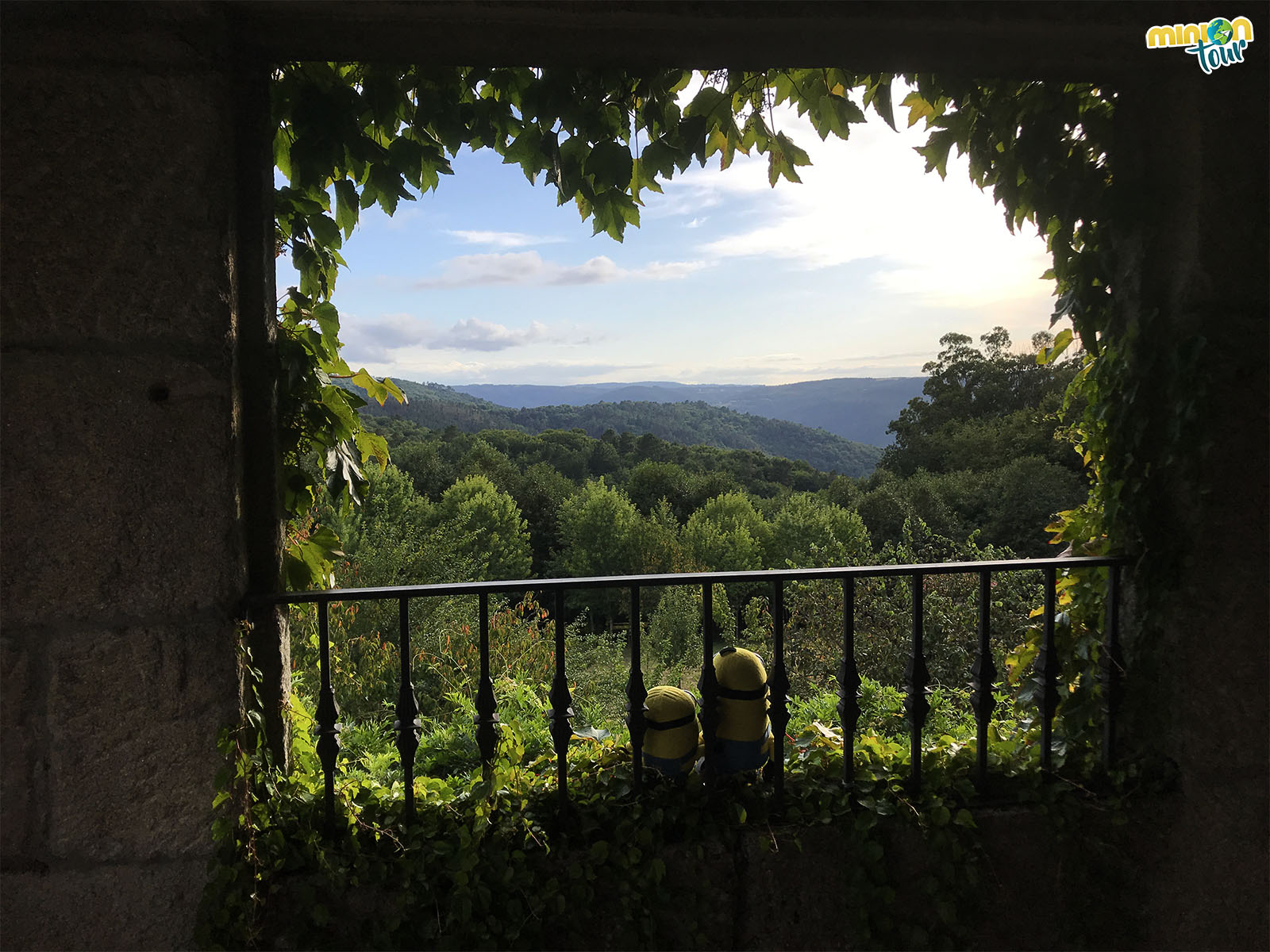 Un balcón para enamorar en el Ecomuseo y Pazo de Arxeriz