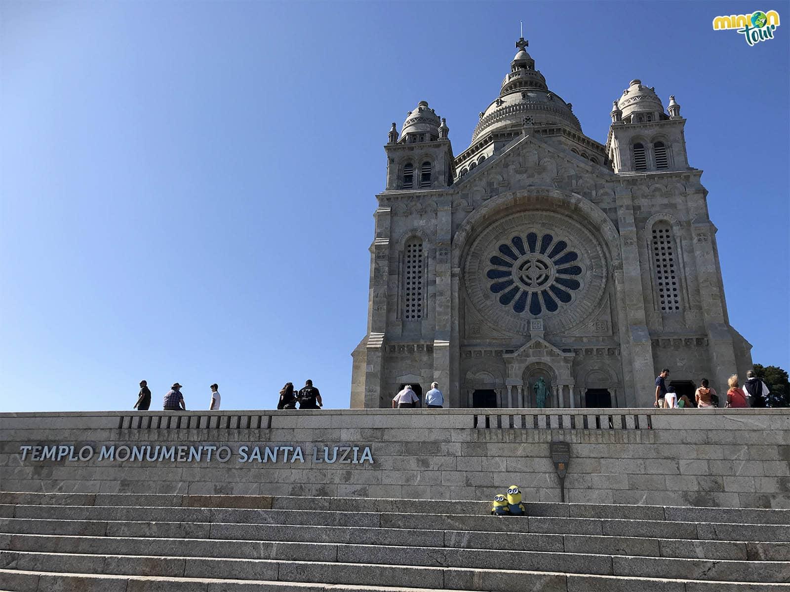 El Santuario de Santa Luzia, uno de los paisajes más bonitos que hemos visto