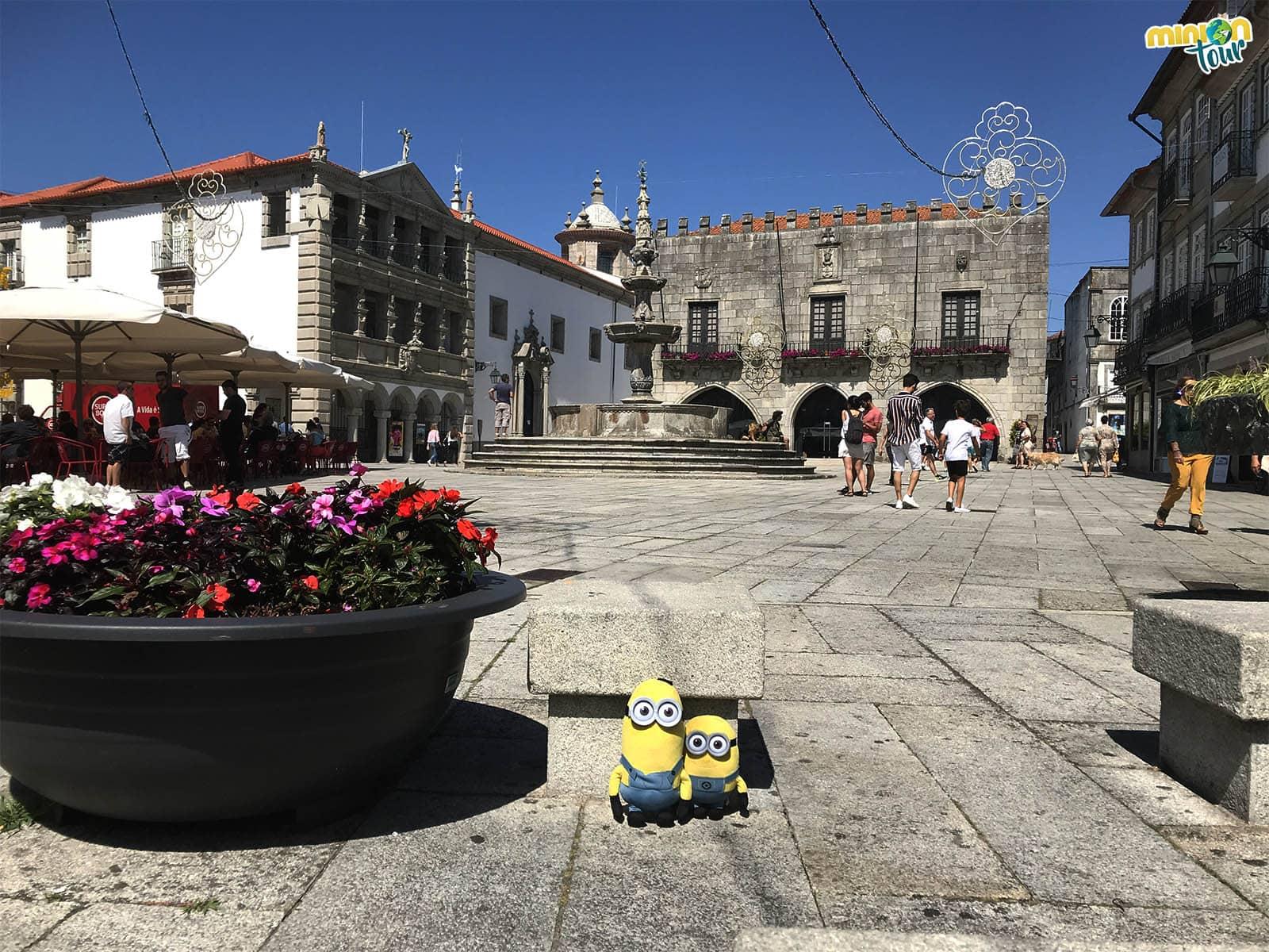 La Plaza de la República no puede faltar entre las cosas que tienes que ver en Viana do Castelo