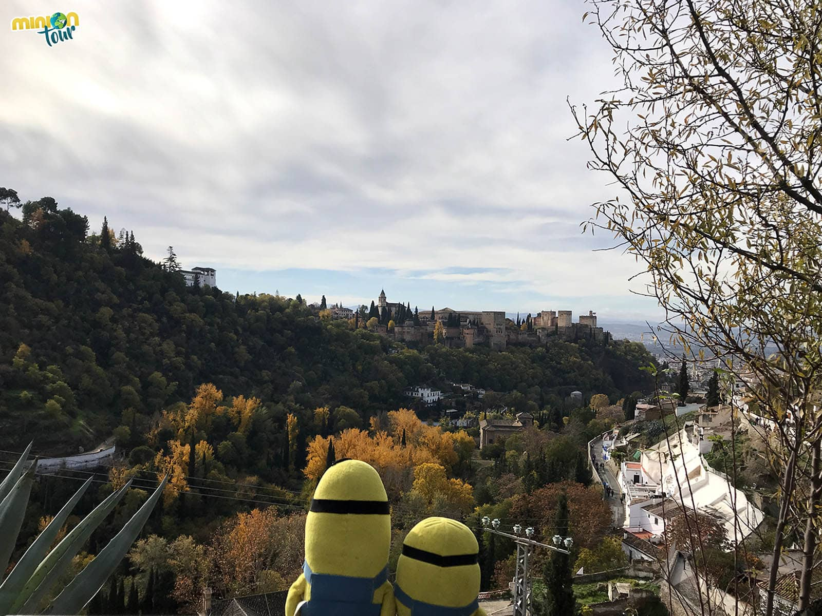 Vistas desde el Museo de las Cuevas del Sacromonte