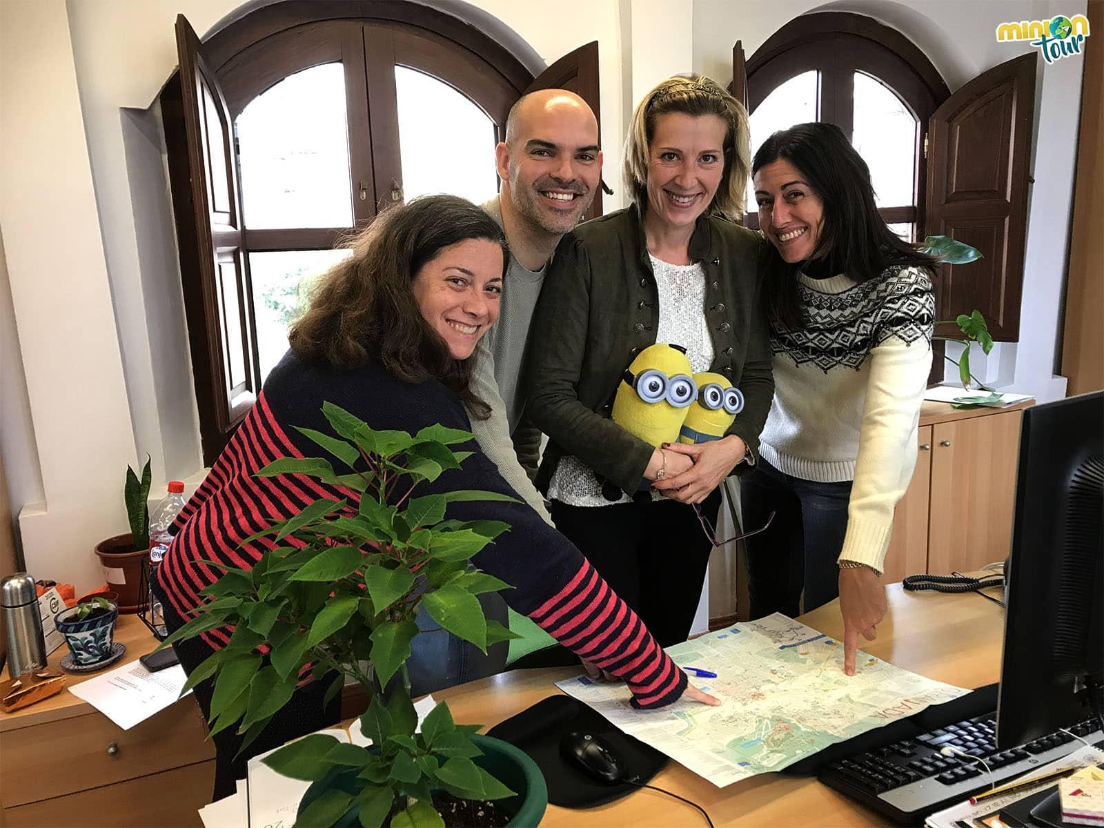 Nuestros amiguis de Turismo Granada