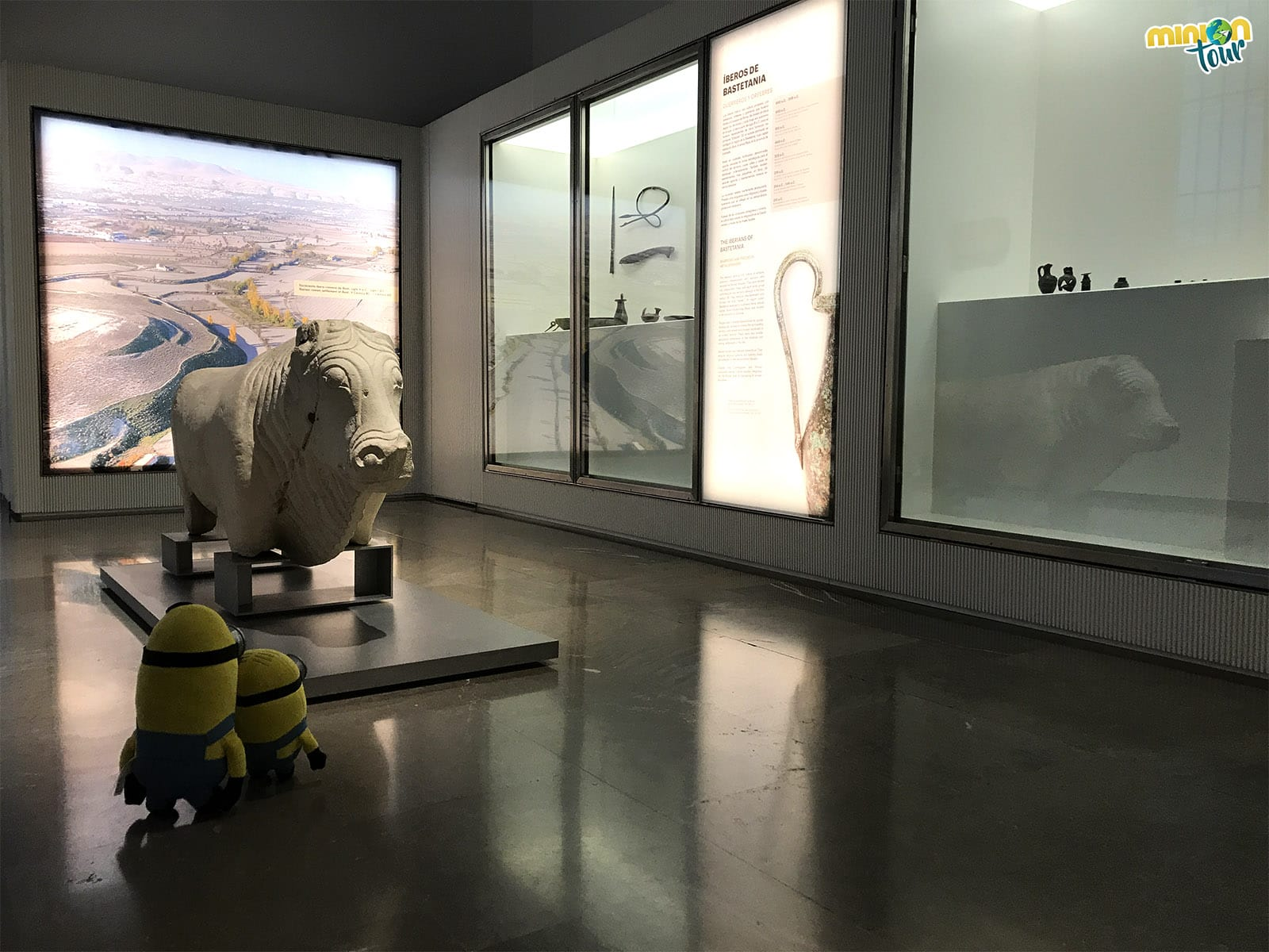 Una de las salas del Museo Arqueológico de Granada
