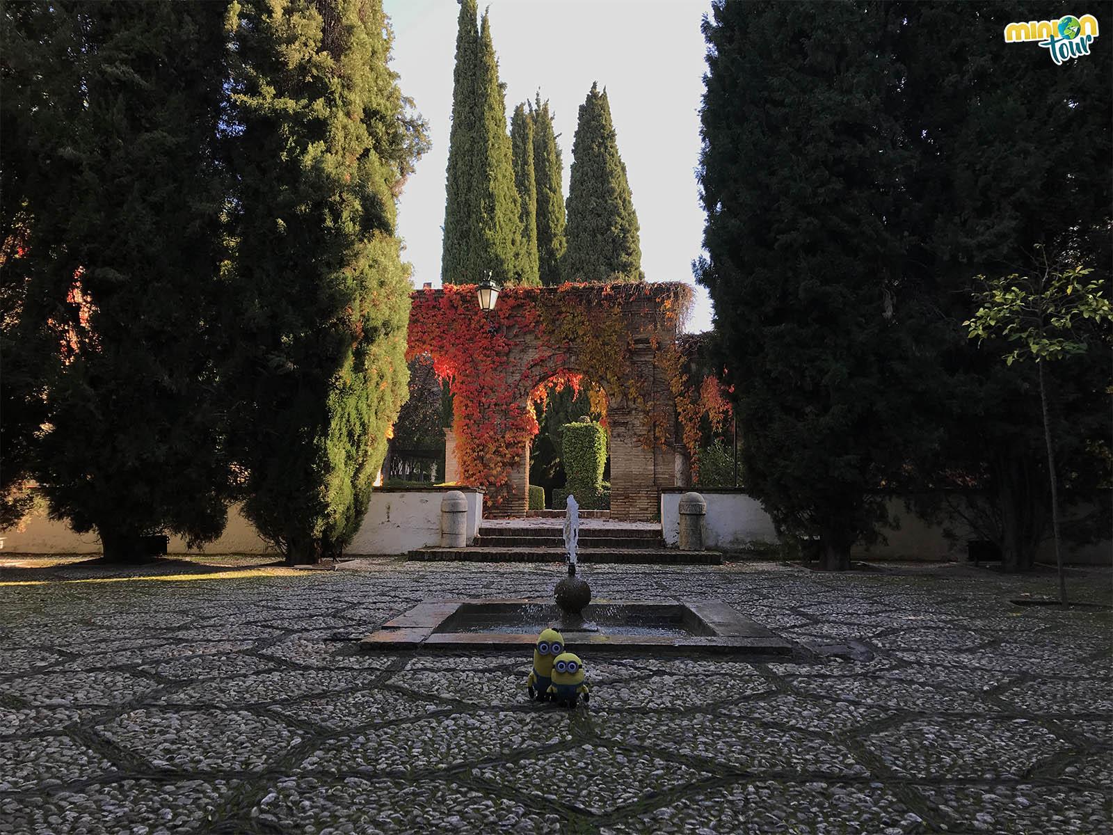 Los jardines del Palacio de los Córdova son muy chulos