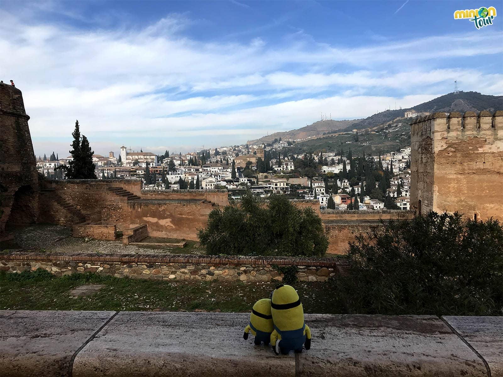 En Granada no te puedes perder la Alhambra