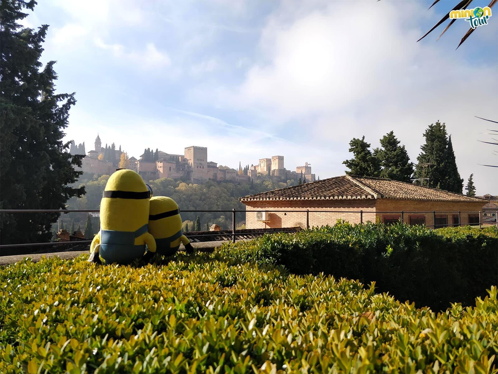 Vistas de la Alhambra desde la Casa del Chapiz