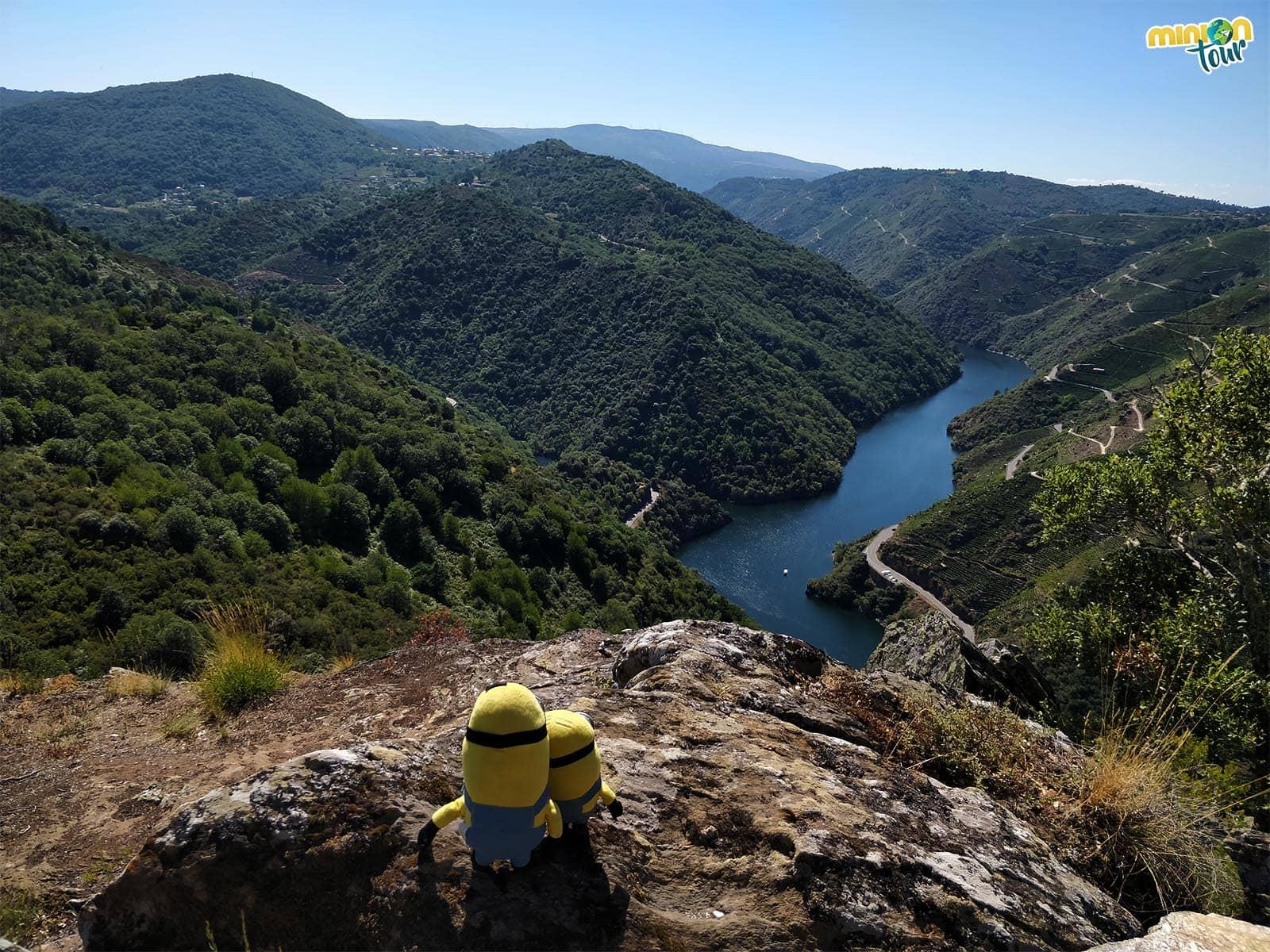 El Cañón del río Sil visto desde el Mirador de Matacás