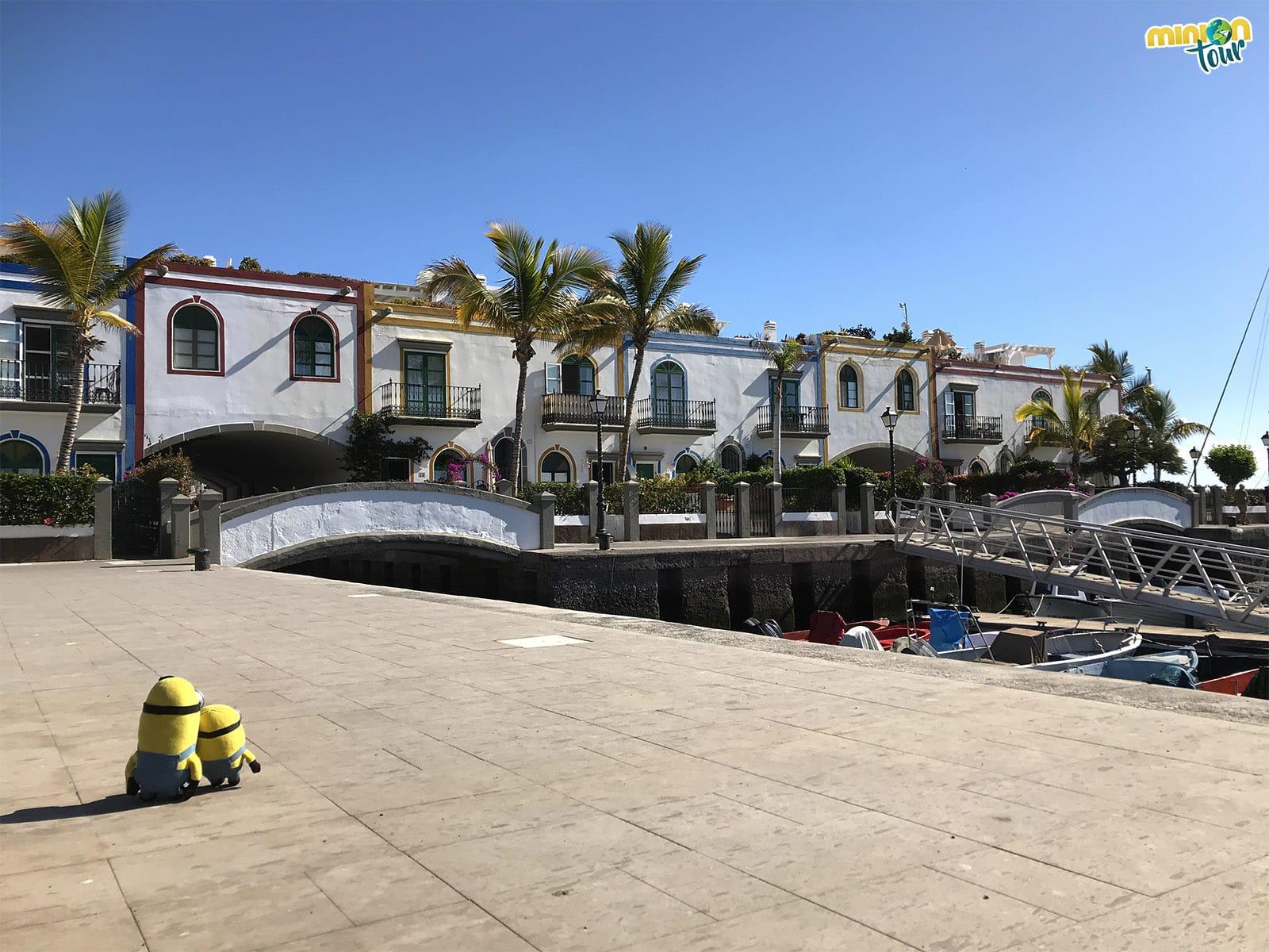 Las casitas de colores de Puerto de Mogán