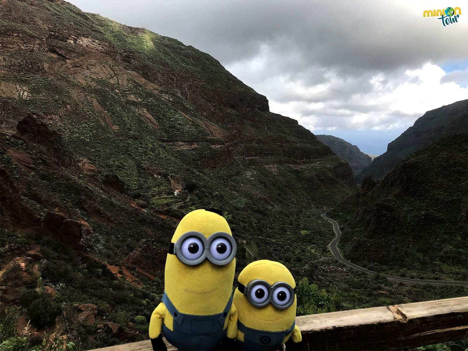Panorámica del Barranco de Guayadeque, un must de Gran Canaria