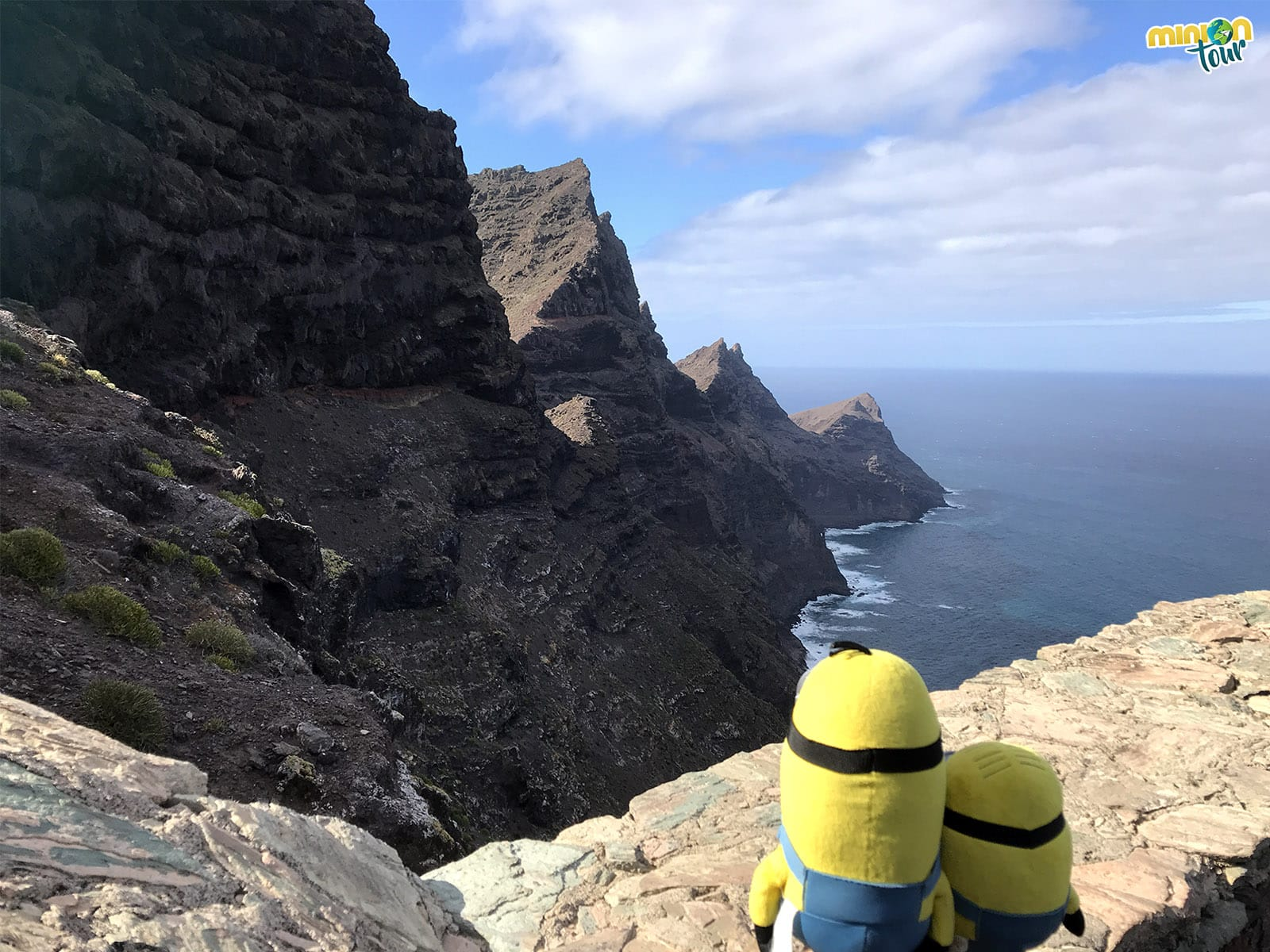 Mirador del Balcón en Gran Canaria, nuestro comienzo de ruta por la GC-210