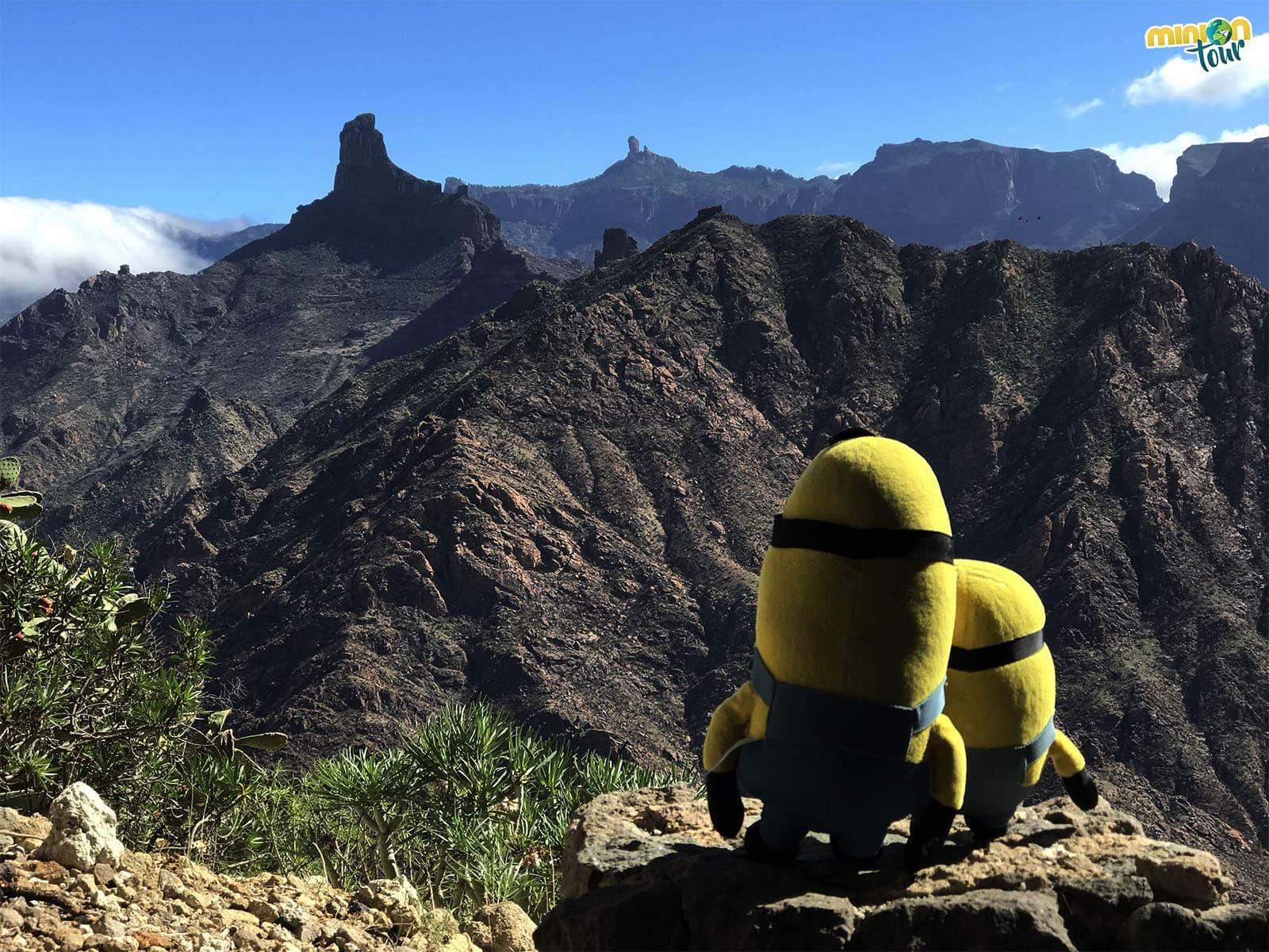 Vistas desde Acusa Seca, una de los lugares que ver en Gran Canaria