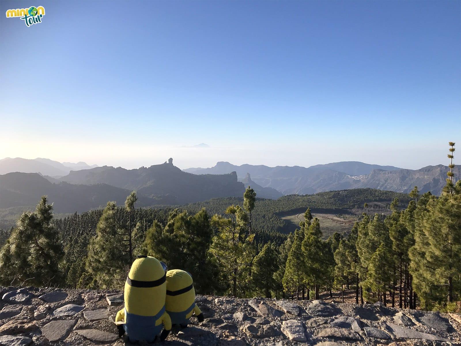 Mirador del Pico de las Nieves, más sitios chulos de Gran Canaria