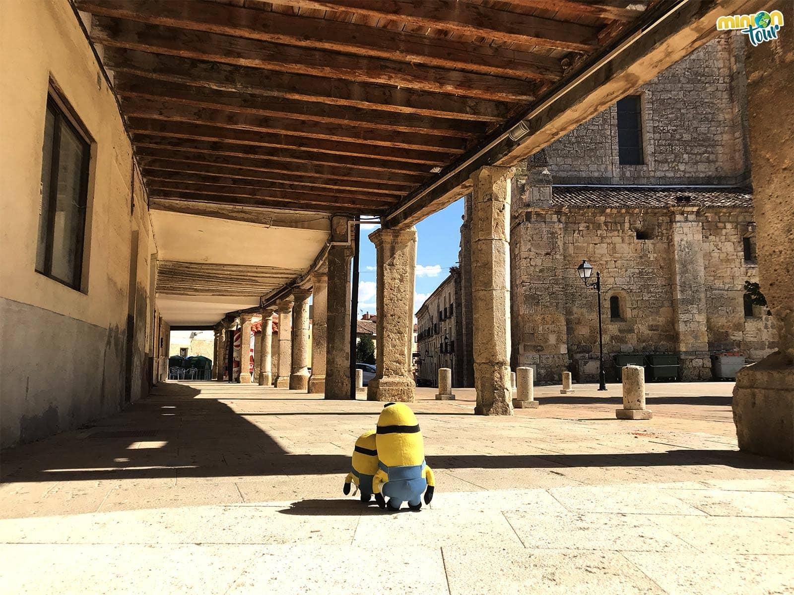 La Plaza de España, uno de los lugares que ver en Dueñas