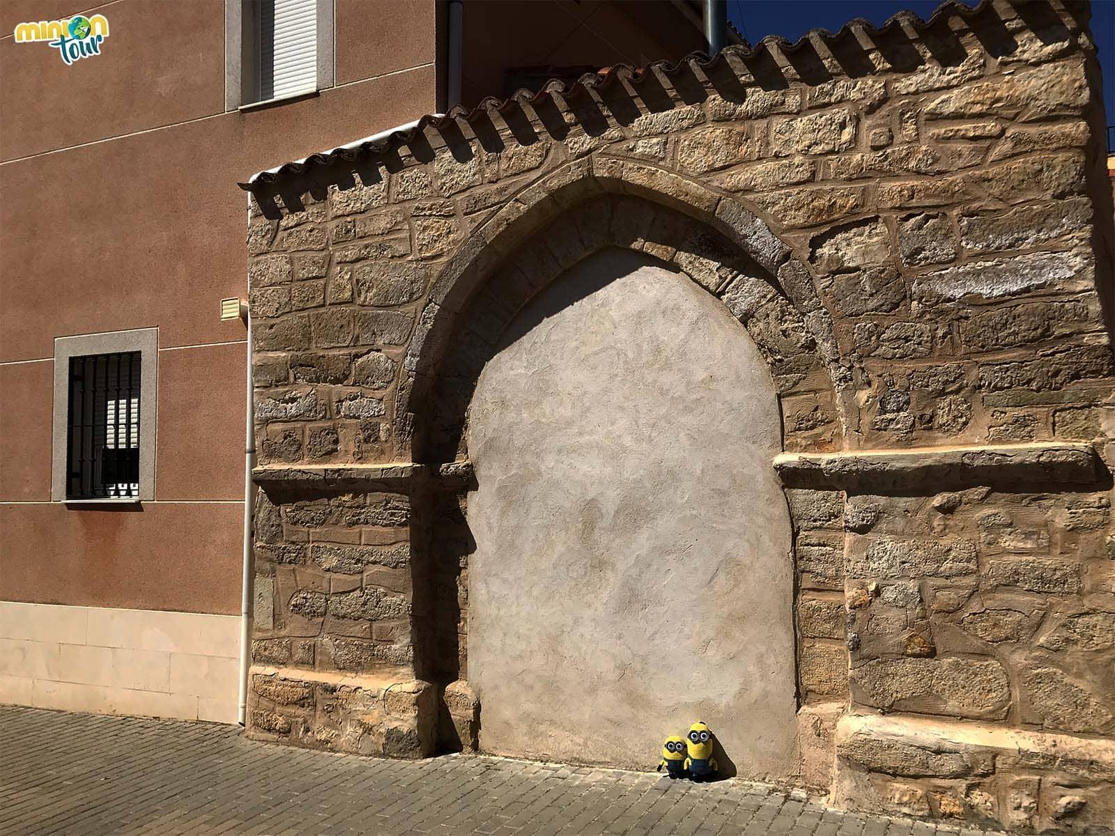 Puerta de la Ermita del Cristo tapiada