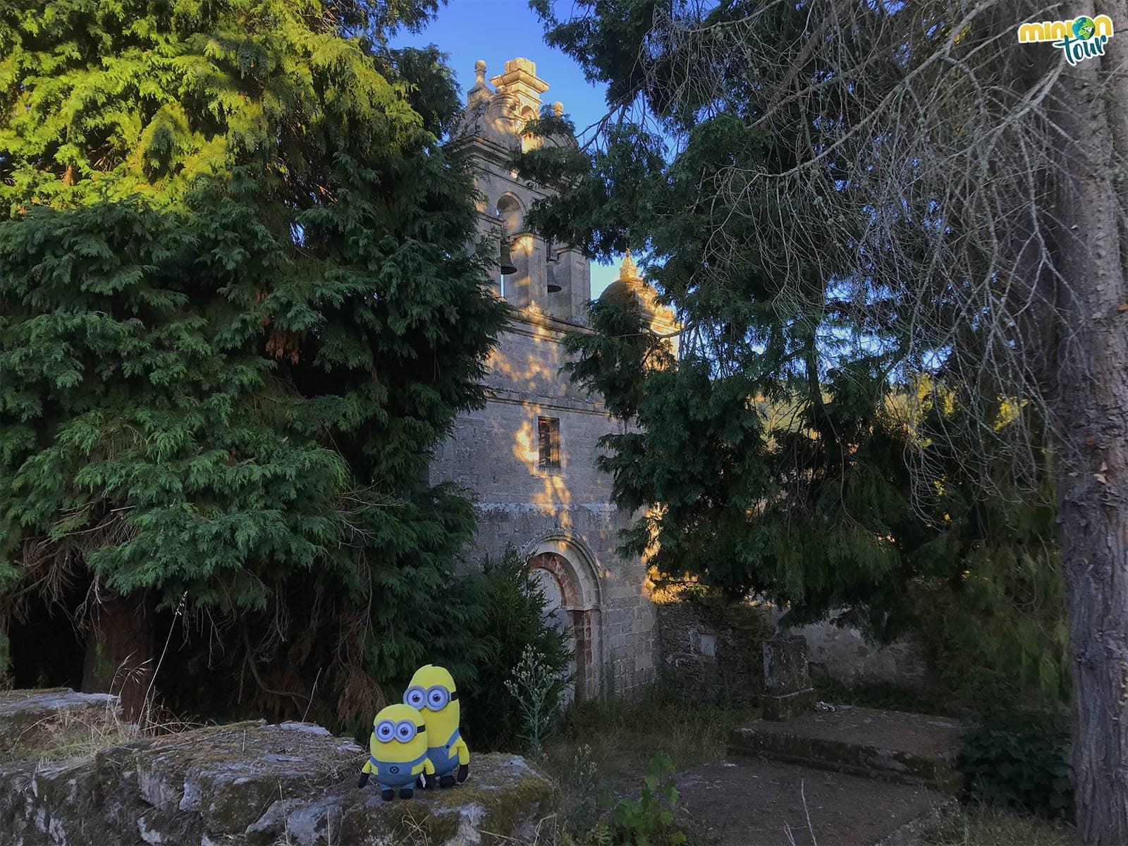 Portada del Monasterio de San Paio da Abeleda