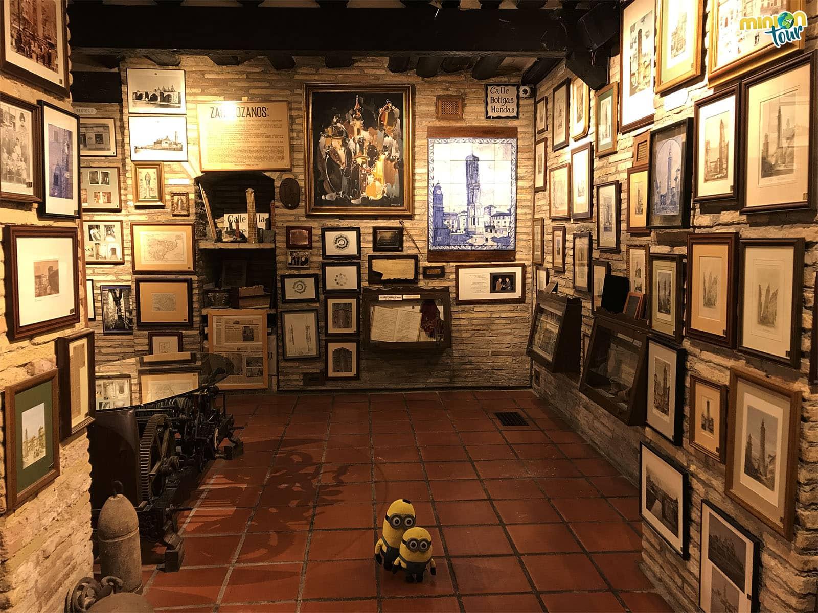 Sala del Museo de la Torre Nueva
